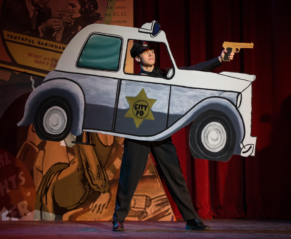 Donald Sutton in Reefer Madness - Police Car.jpg