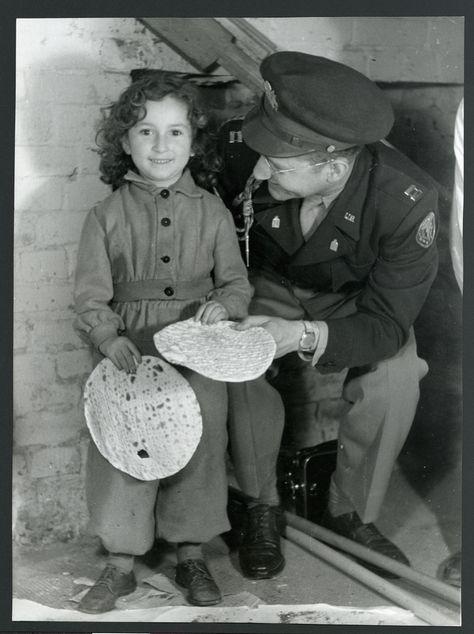 Survivor with U.S. Army Chaplain