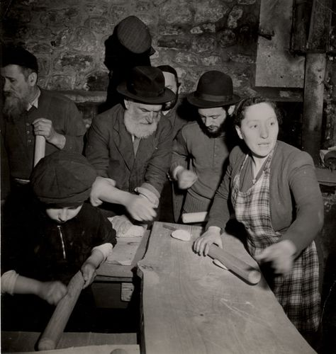 Making Matzoh In A Displaced Persons' Camp