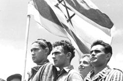 Survivors of Buchenwald in Israel