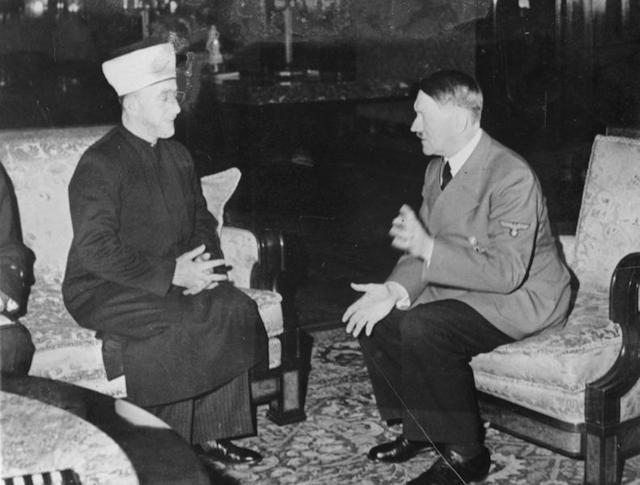 The Mufti with Adolf Hitler
