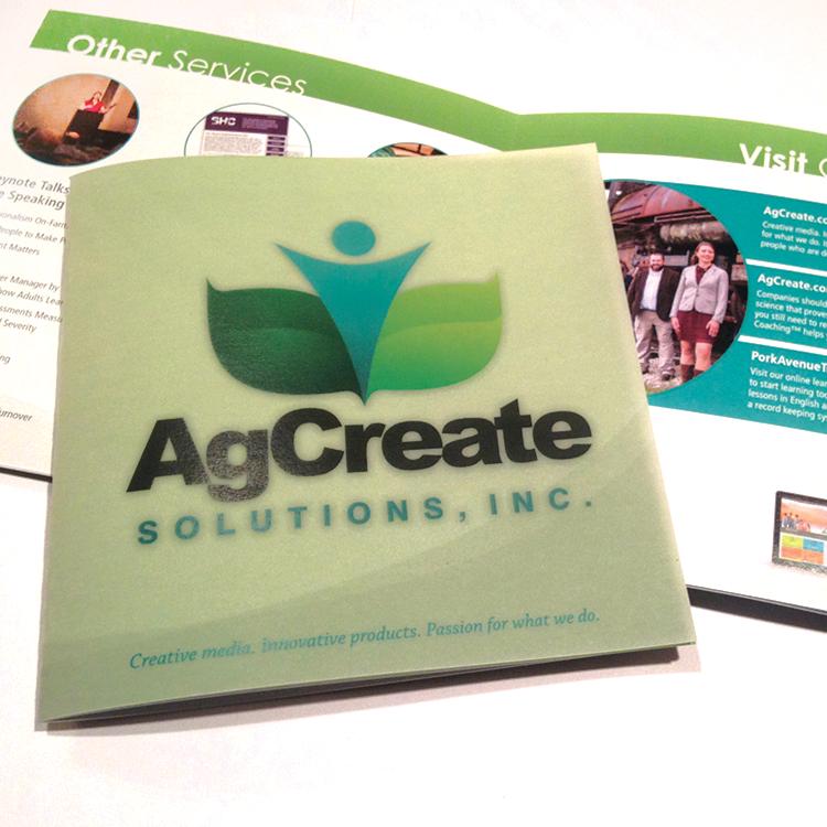 Agcreate - Brochure
