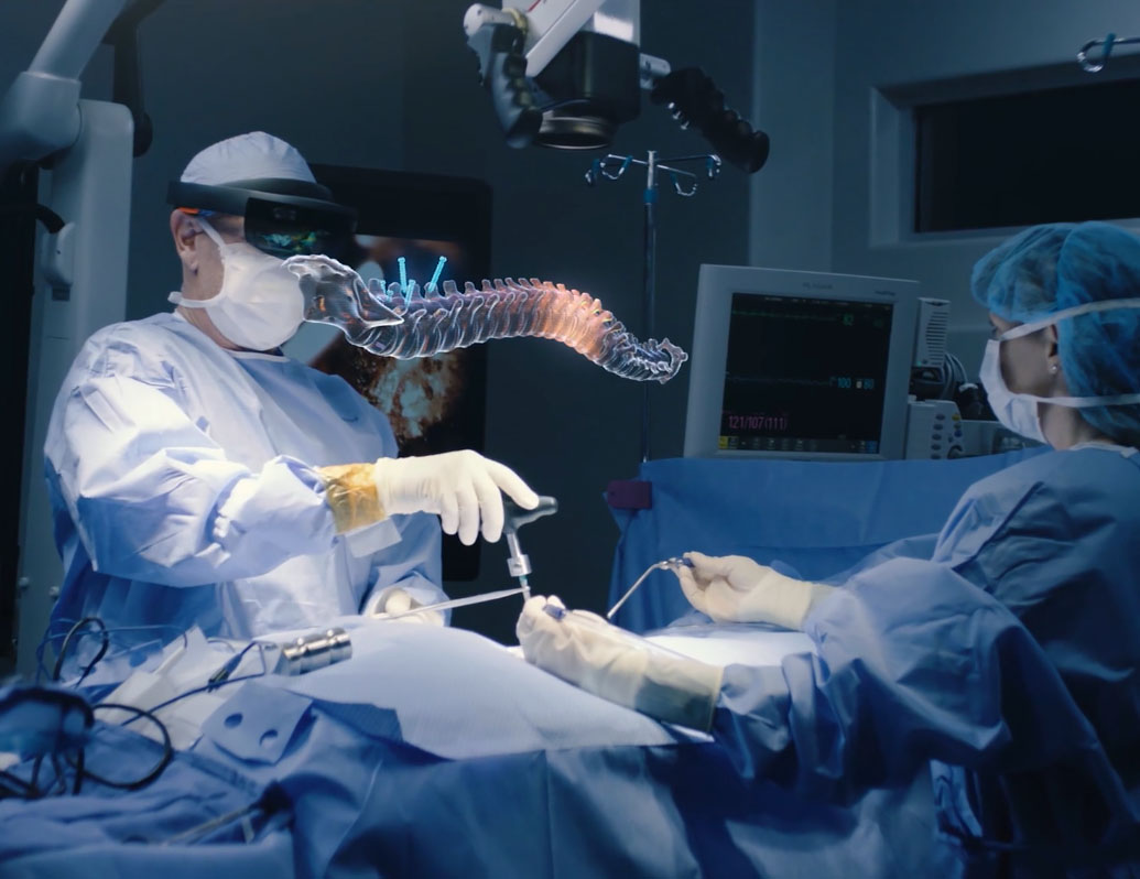 IMAS Mixed Reality - eXeX designed and created a first of it's kind mixed reality application for neurosurgeons to utilize. The suite of software encompasses the entire patient journey tied to the class leading IMAS platform, and harnesses the hardware of the Microsoft HoloLens.