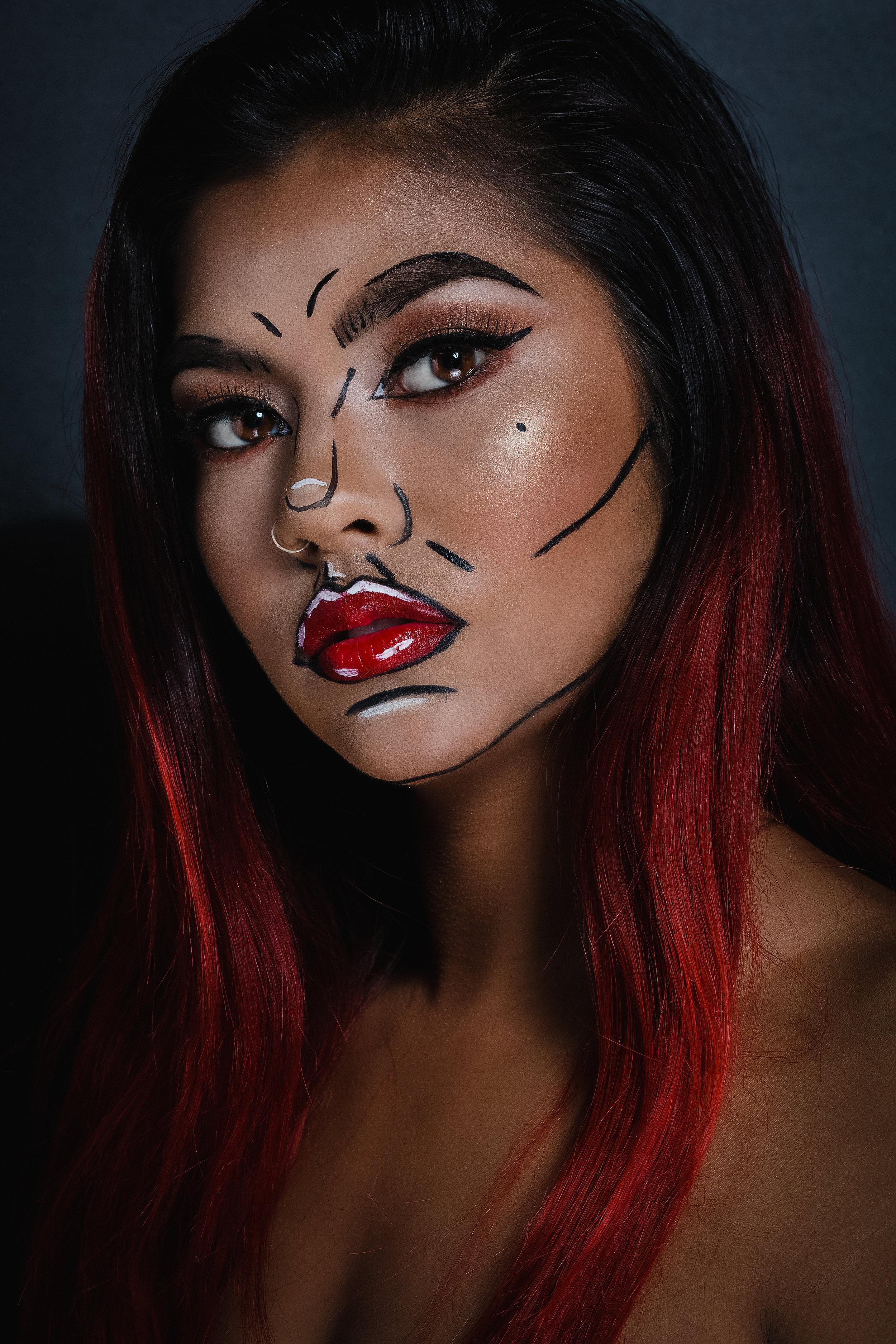 Photographer:  @jachristo /Retoucher: @luisparradesign   Makeup:  @annaconnieeexmua   Model: @claireaq   Text: Melissa Borrego