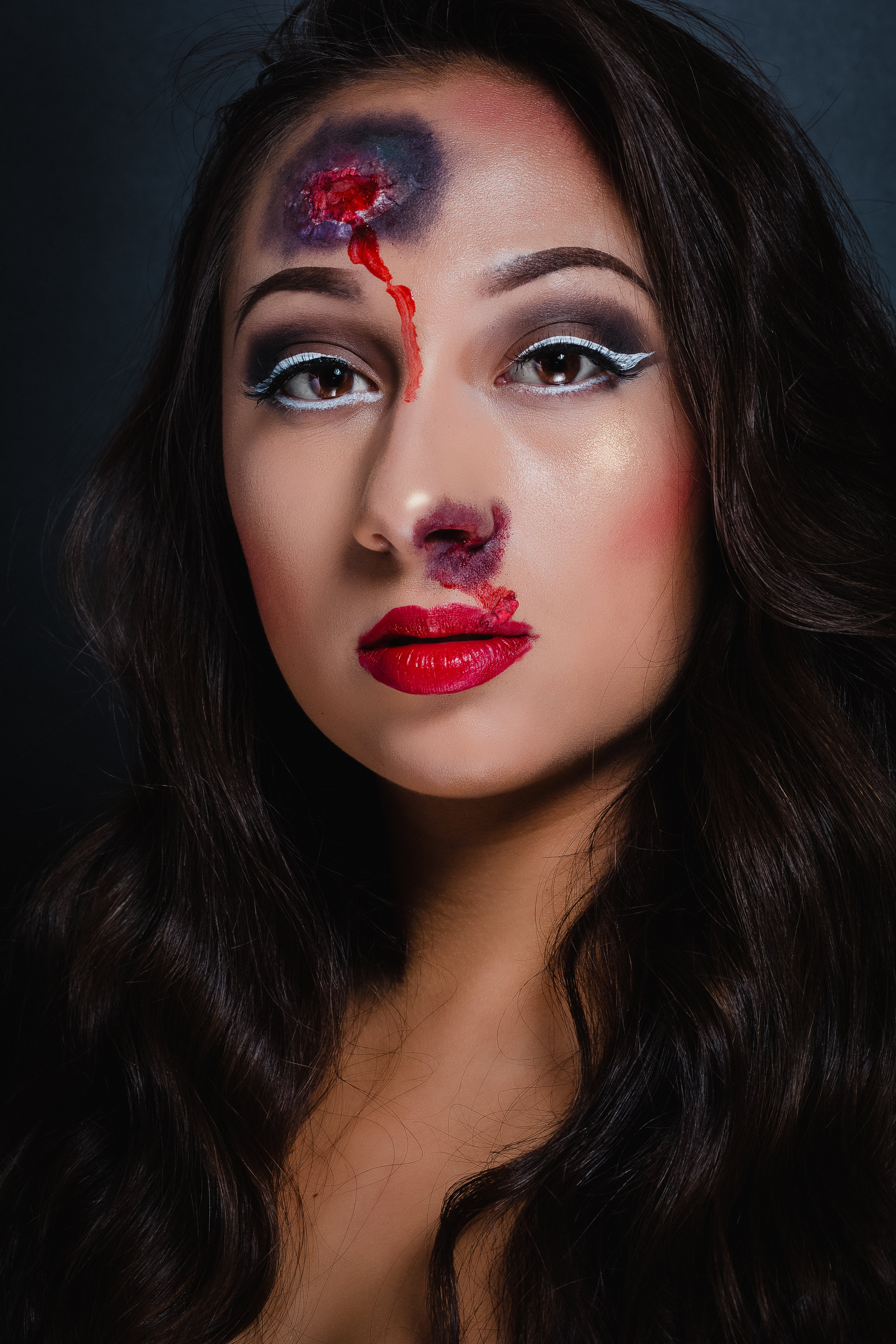 SFX Makeup - When it comes to achieving your Halloween look, you'll have to first decide on what you are going for. Whether that is using a concoction of blacks and browns to resemble a woodland animal or using reds and purple paint to recreate a gnarly encounter with Freddy Krueger.
