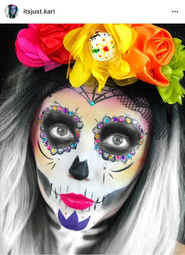 How could we not acknowledge this work of art? In honor of Day of the Dead.