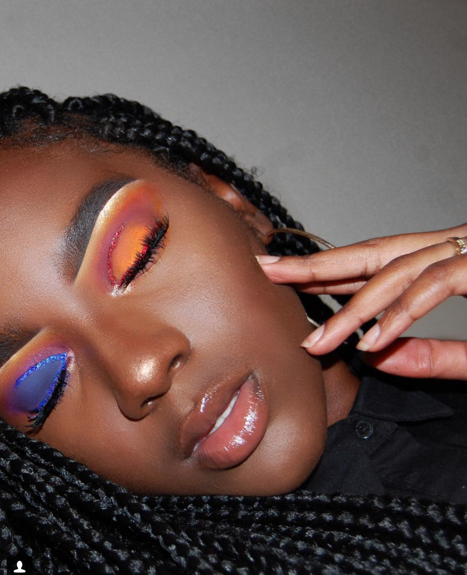 @Collegiatebeauty can slay any asymmetrical look! What can't she do?!Photo courtesy of Denise Cohen.