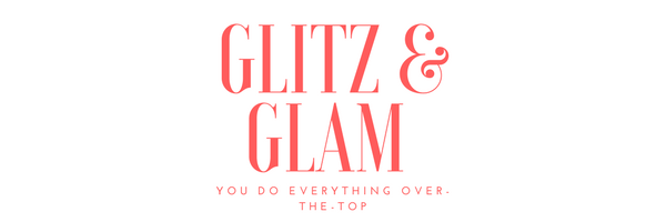 Glitz and Glam makeup look banner