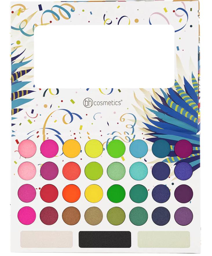 bh cosmetics take to brazil eyeshadow palette