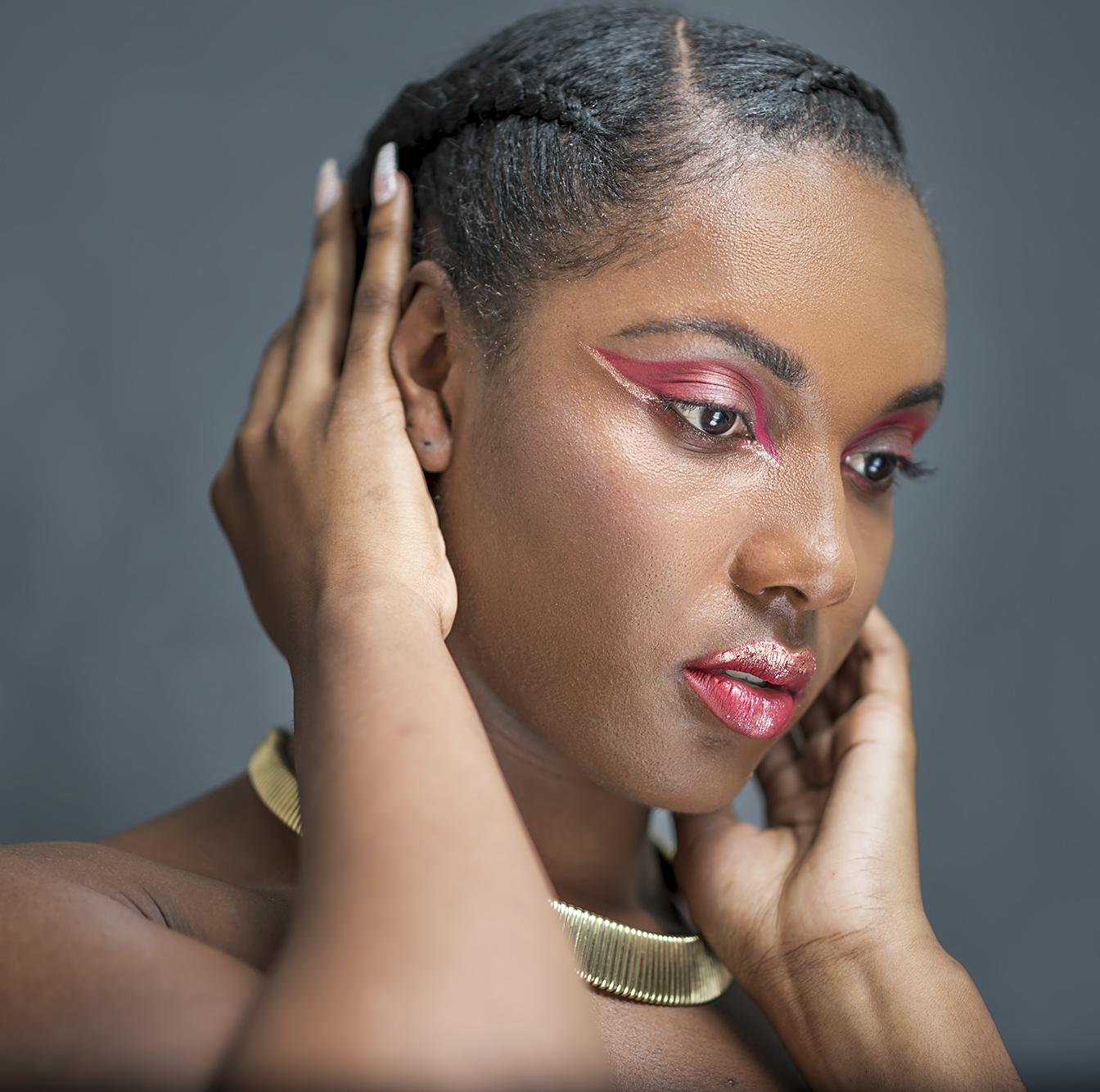 aries zodiac makeup for dark skin