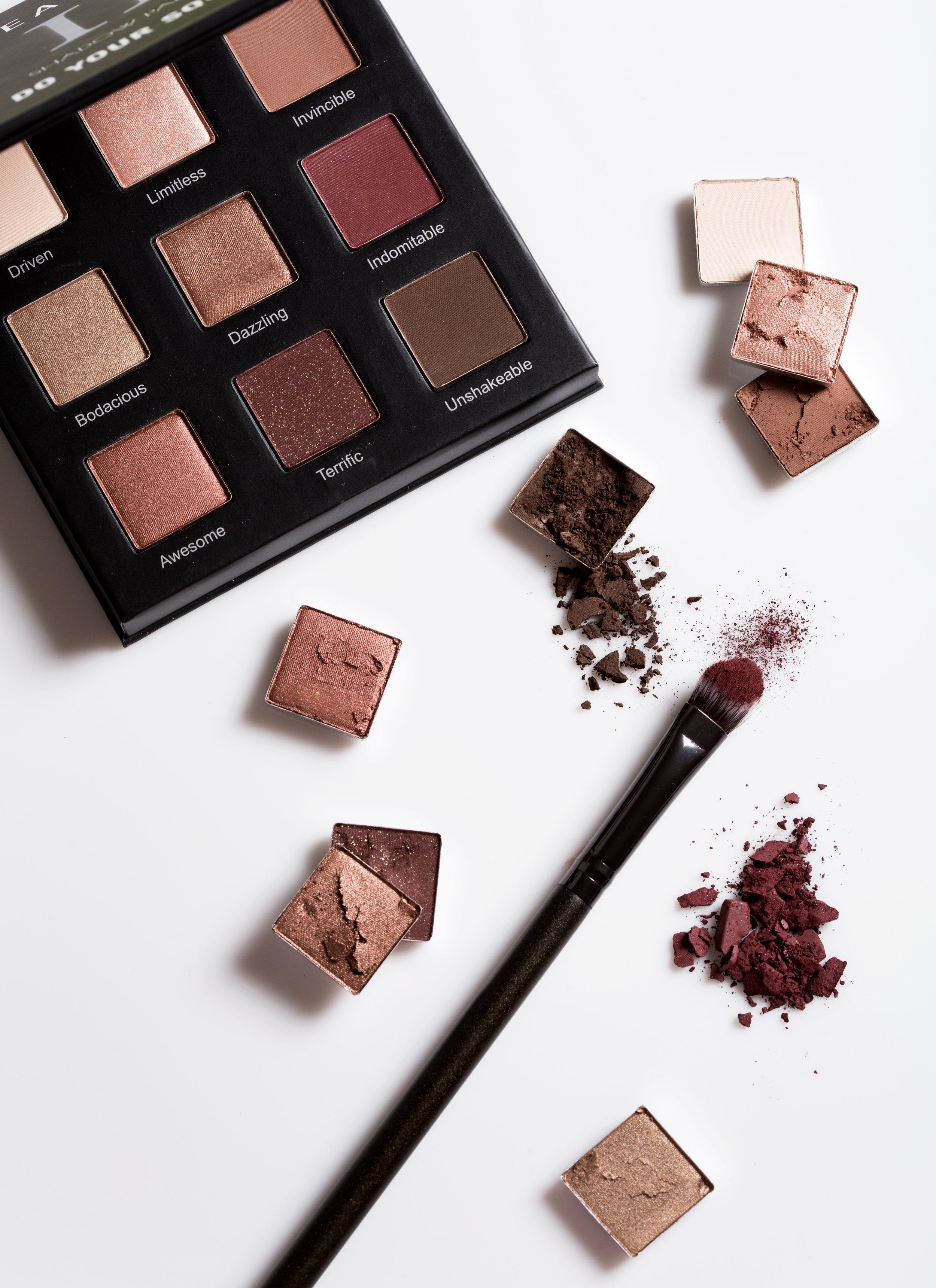 realher eyeshadow palette review mocha girl beauty