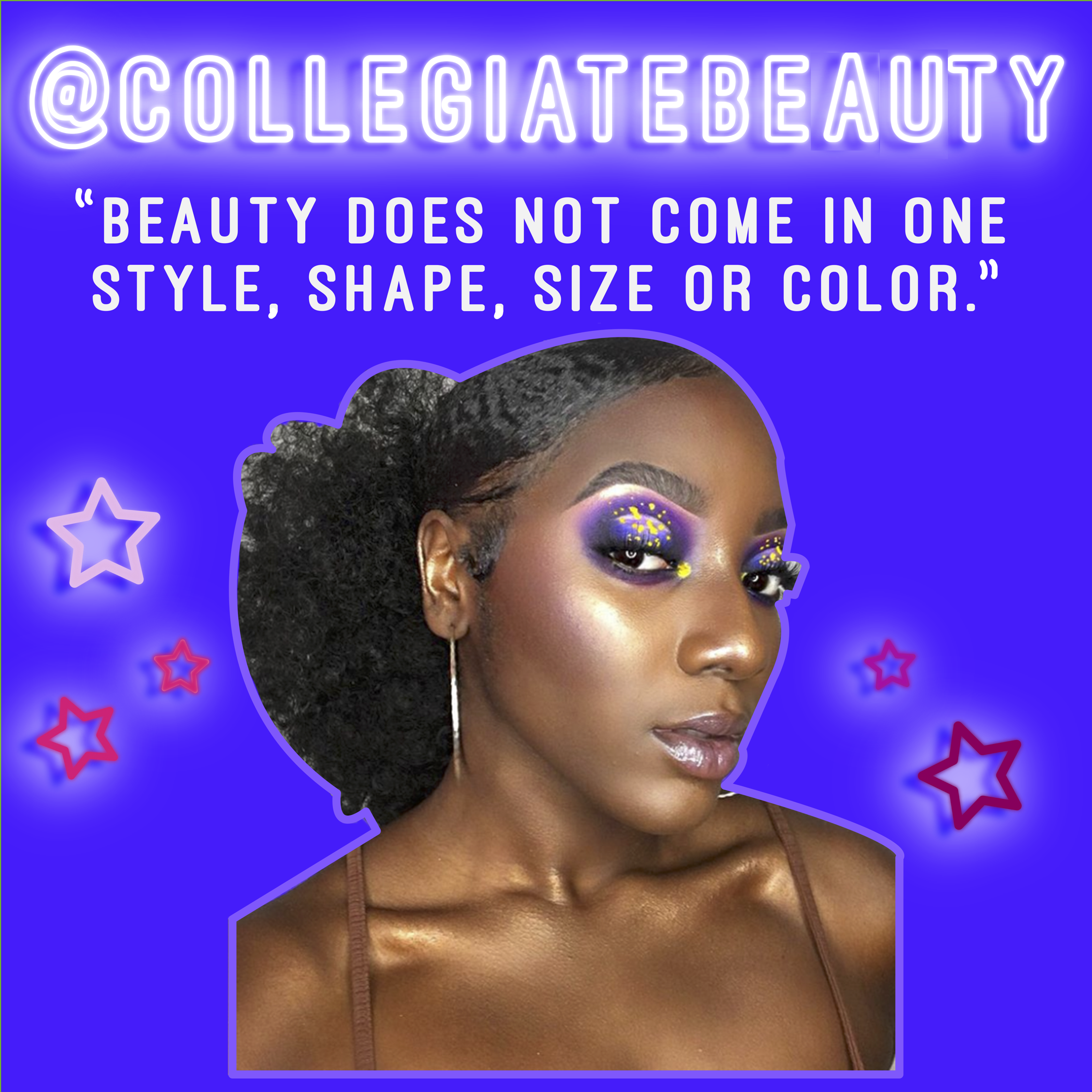 """""""Growing up, I wish I would have known that the European standard of beauty wasn't necessarily the right one or the only one...As the years have passed, I've come to learn the detrimental effects this marginalization can have on many women of color, including myself- I lost my identity for a while. Now, I've adopted a strong mentality in understanding that beauty does not just come in one style, shape, size or color, rather it is the most subjective, personal and unique quality we each possess."""" -@ Collegiatebeauty"""