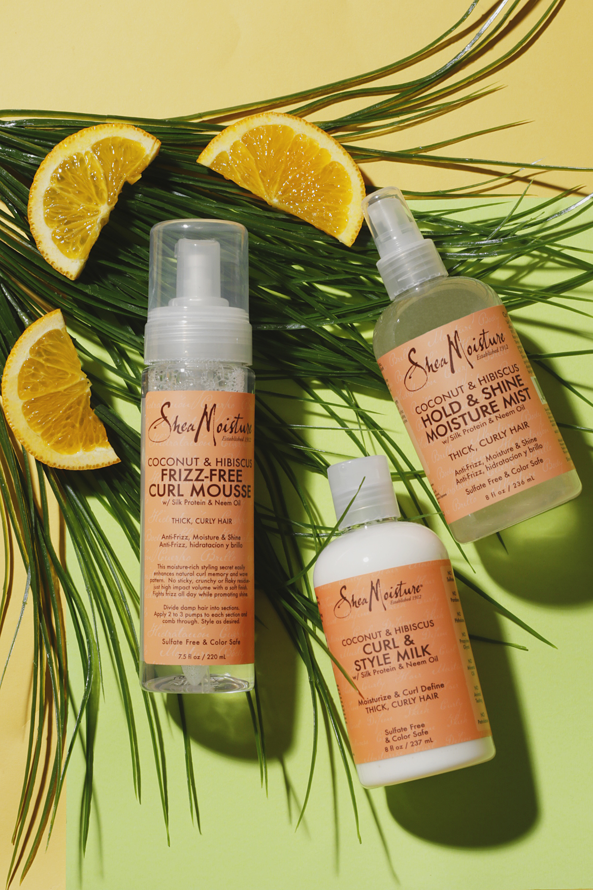 shea moisture products try for summer