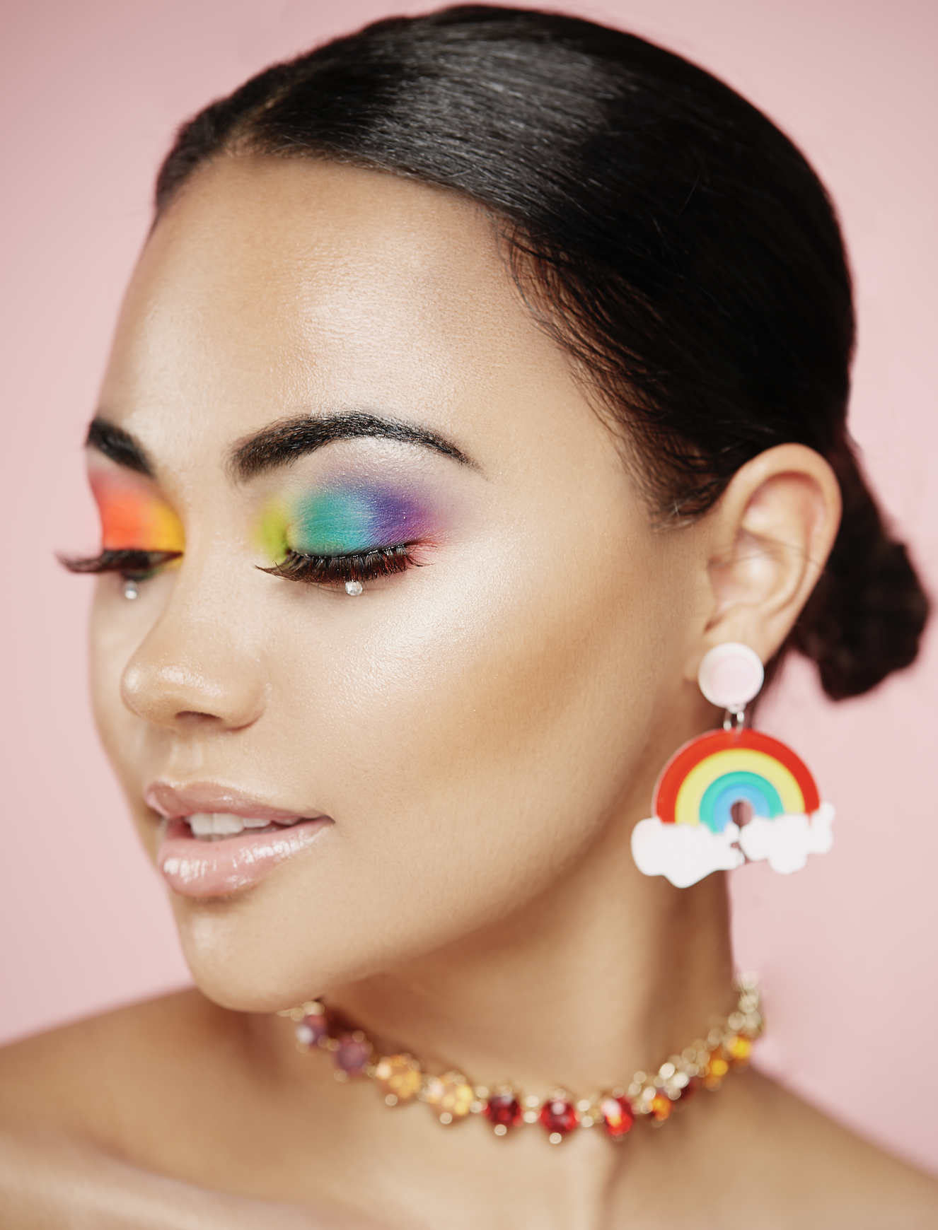Yass! Finally a #Pride look that you can rock all day, everyday!