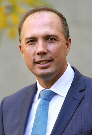 Home Affairs Minister Peter Dutton; credit:  Wikimedia