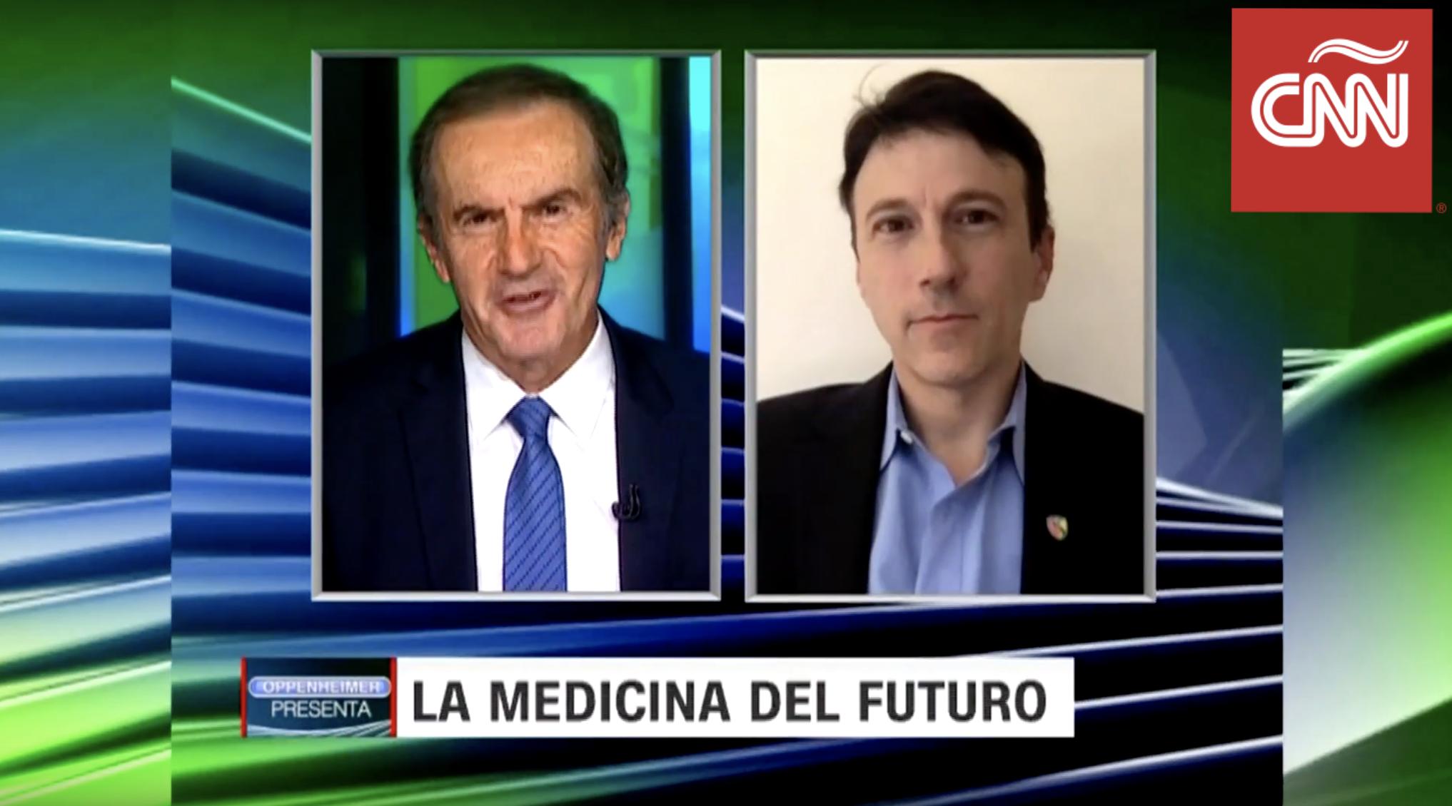 Daniel Kraft on CNN in Espanol