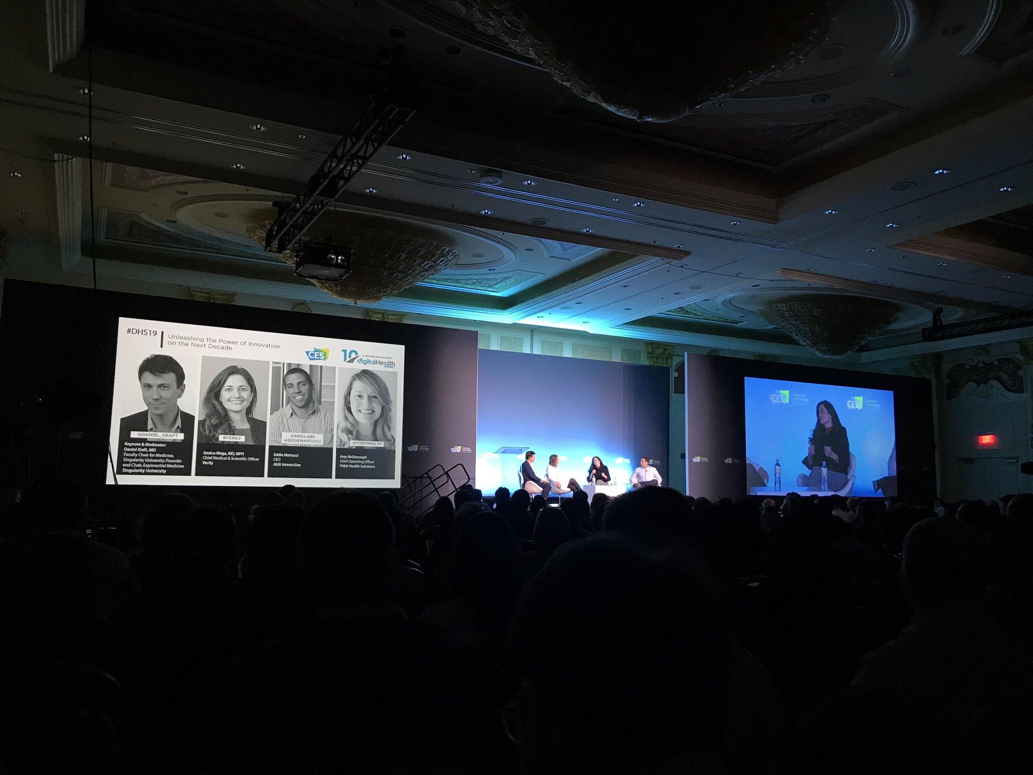 Daniel Kraft - Digital Health Summit - Verily - FitBit - Akili Labs