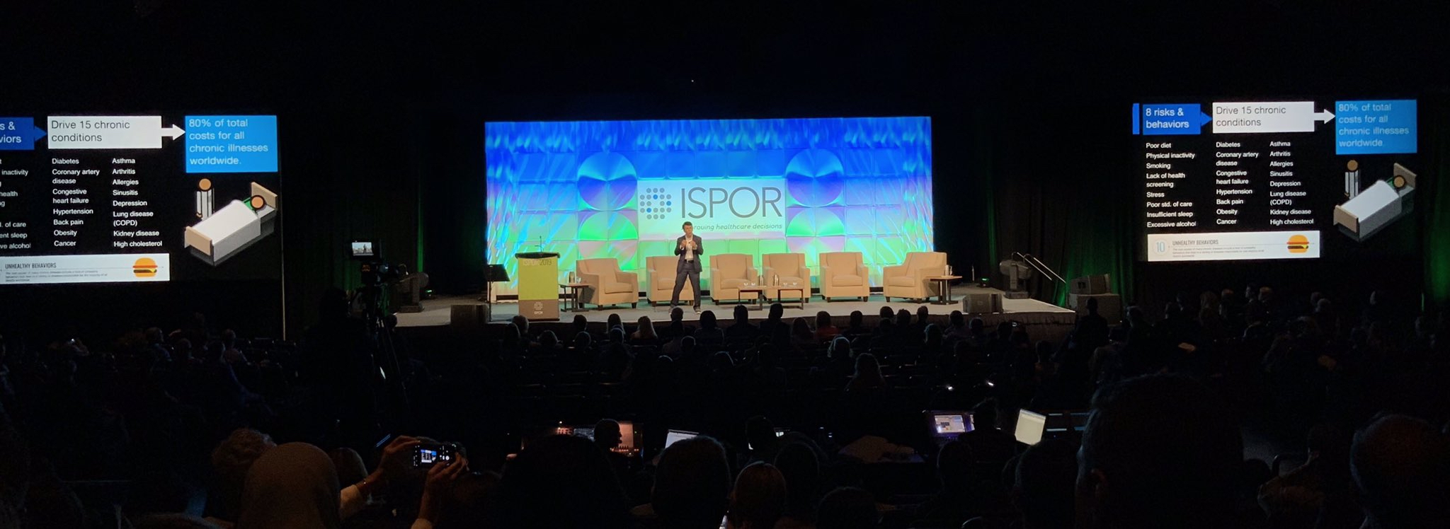 Daniel Kraft keynoting ISPOR 2019