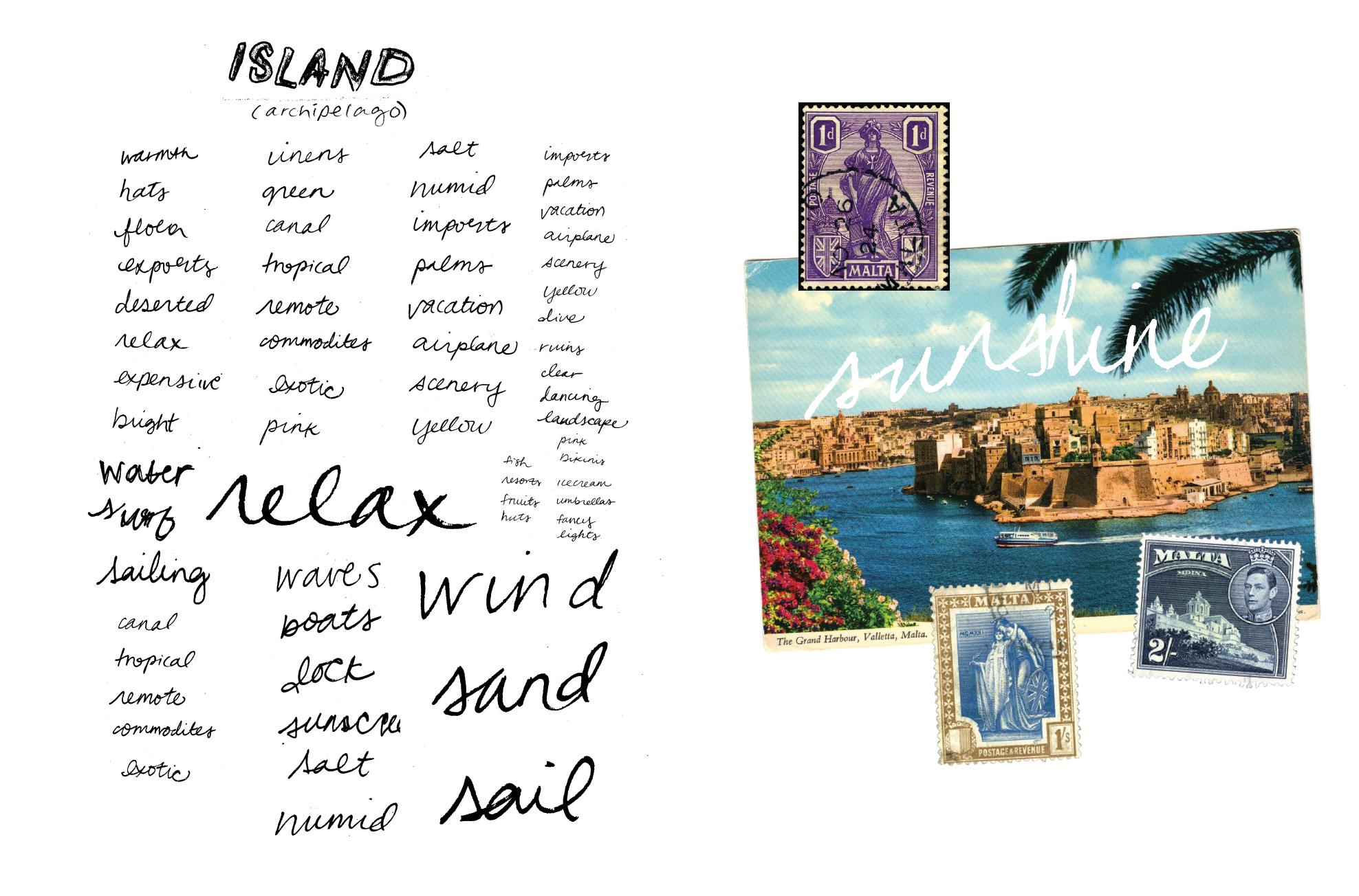 word list - island