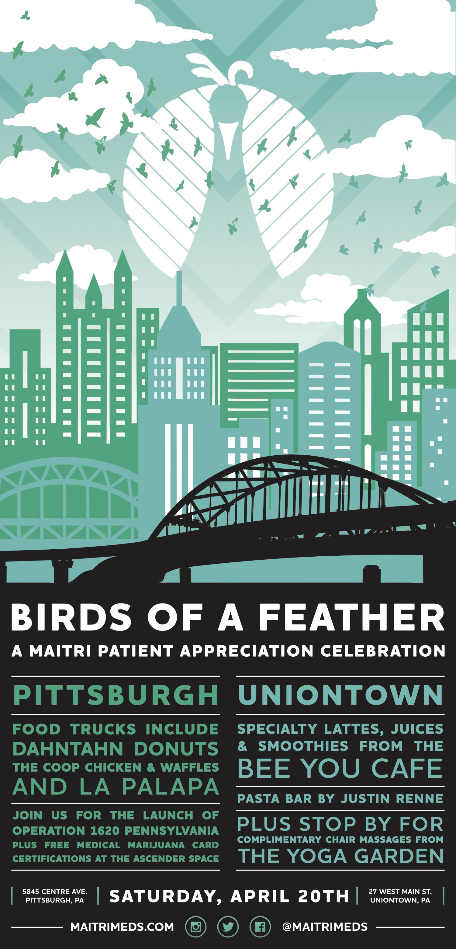 Birds of a Feather: A Maitri Patient Appreciation