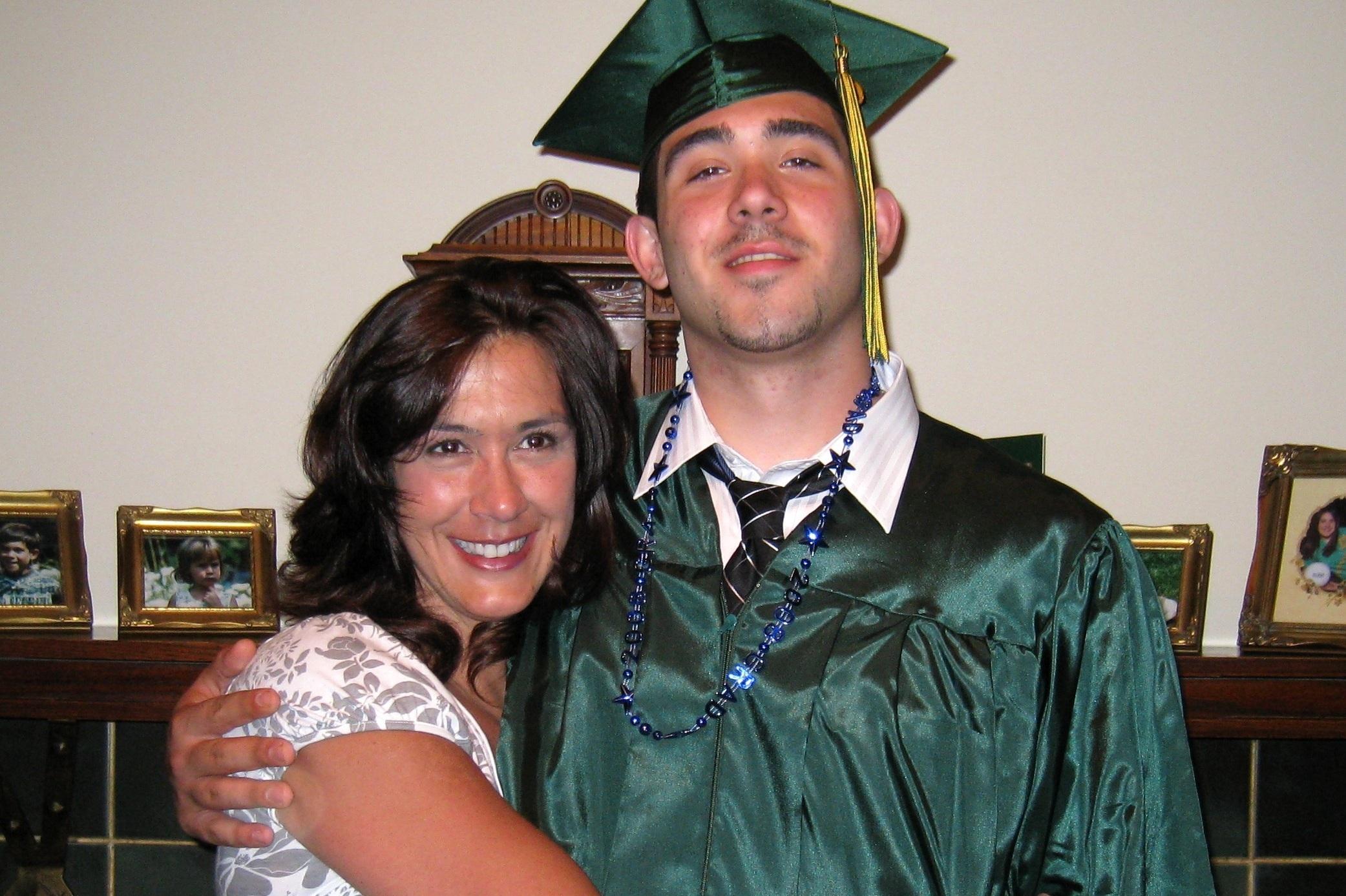 Maitri Medicinals Director of Pharmacy, Terri Kroh, and her son, Ryan