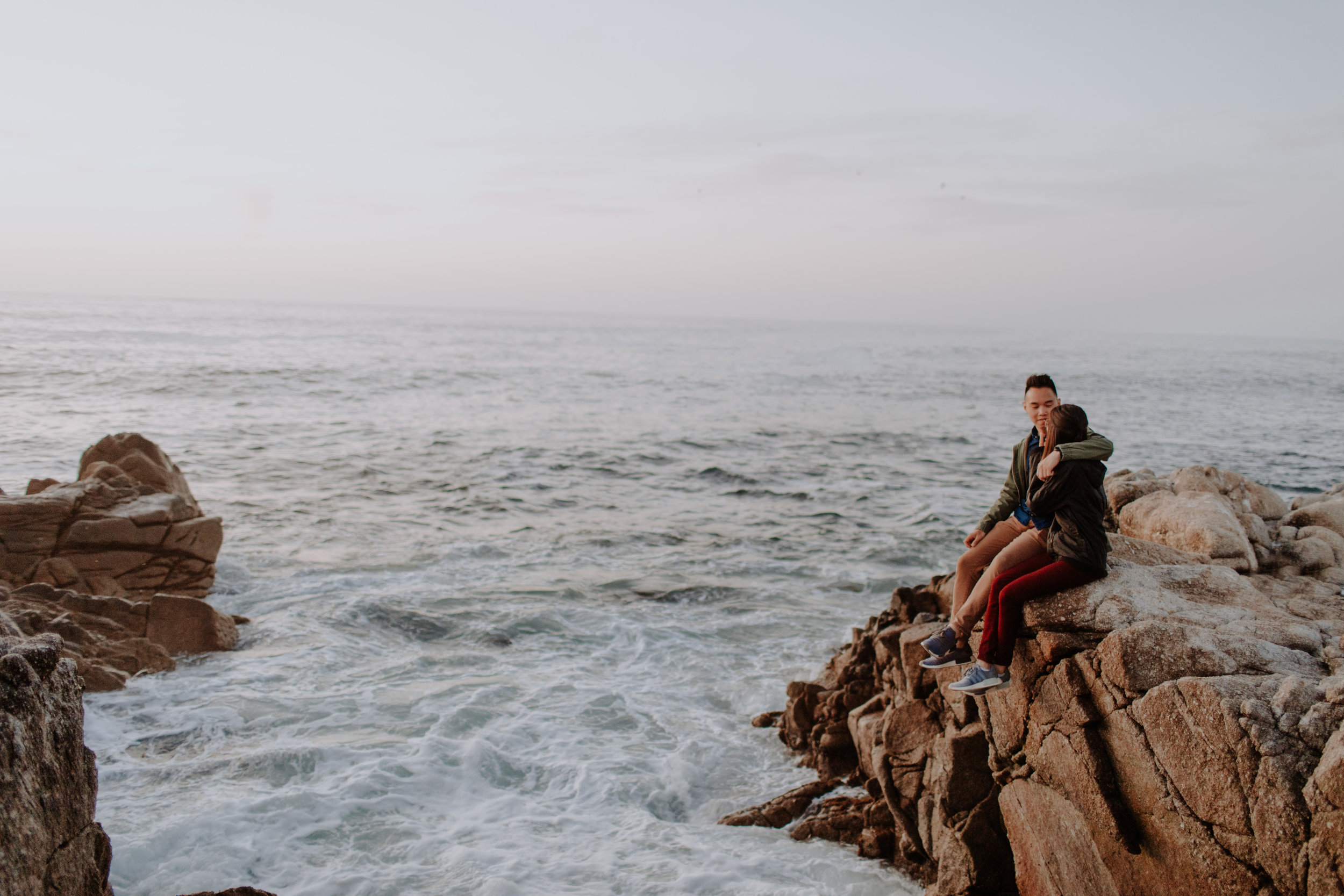 pacific grove california engagement session-1-9.jpg