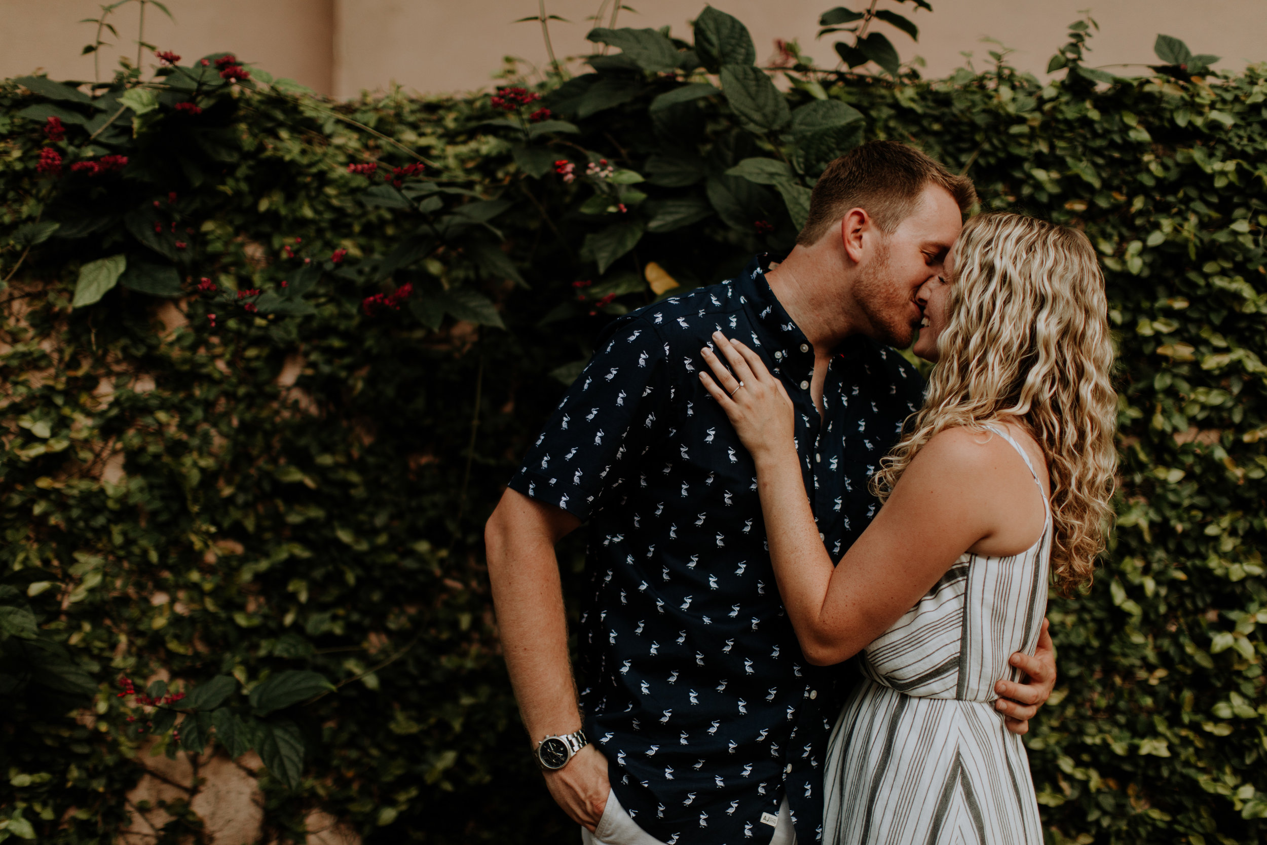 st. augustine engagement photographer couples session