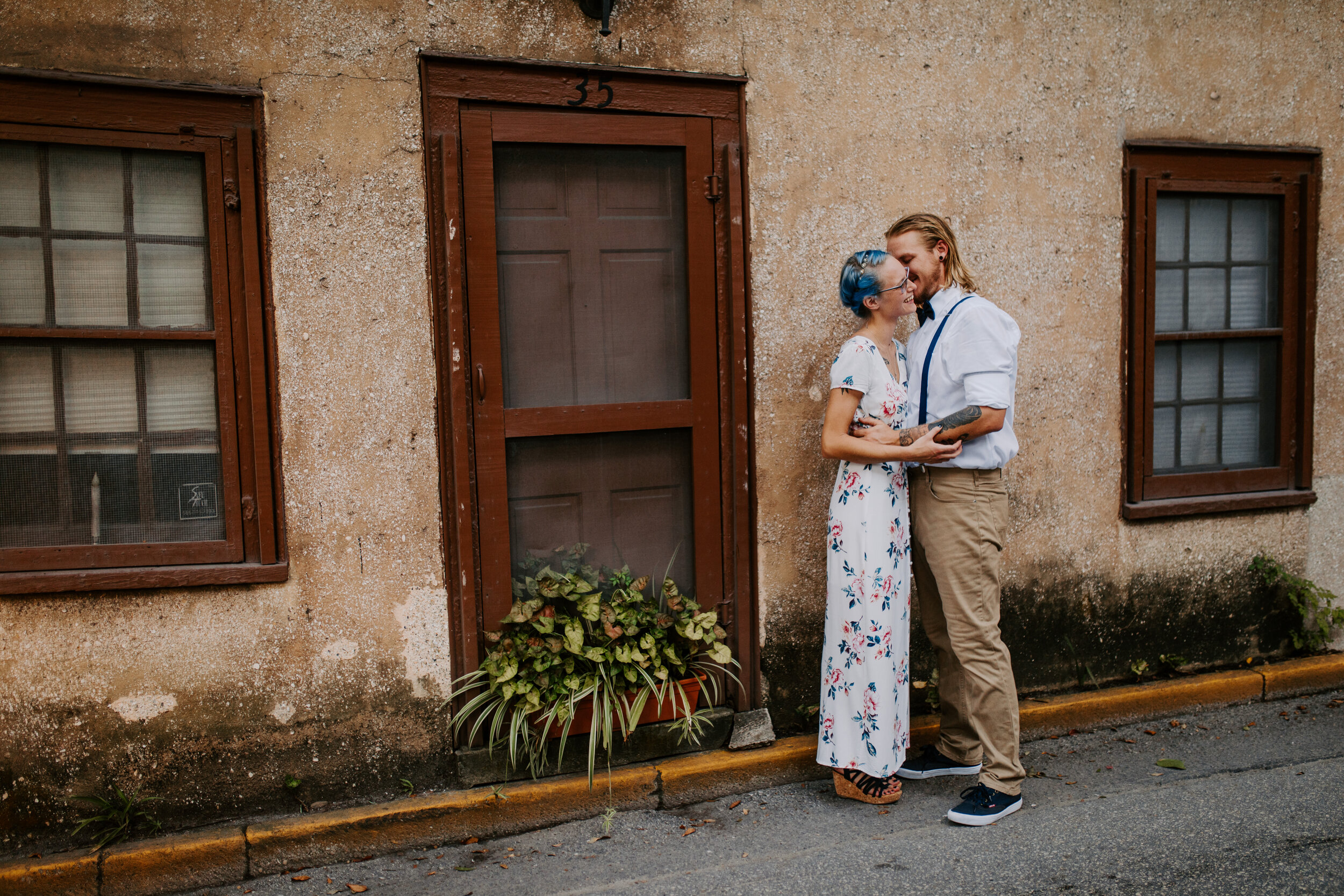 Ashalei_+_Clay_-_Native_Expressions_-_Downtown_St_Augustine_-_Engagement_Session-45.jpg