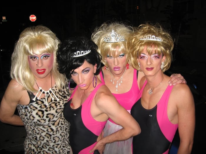 Heklina & Co in the Trannyshack days