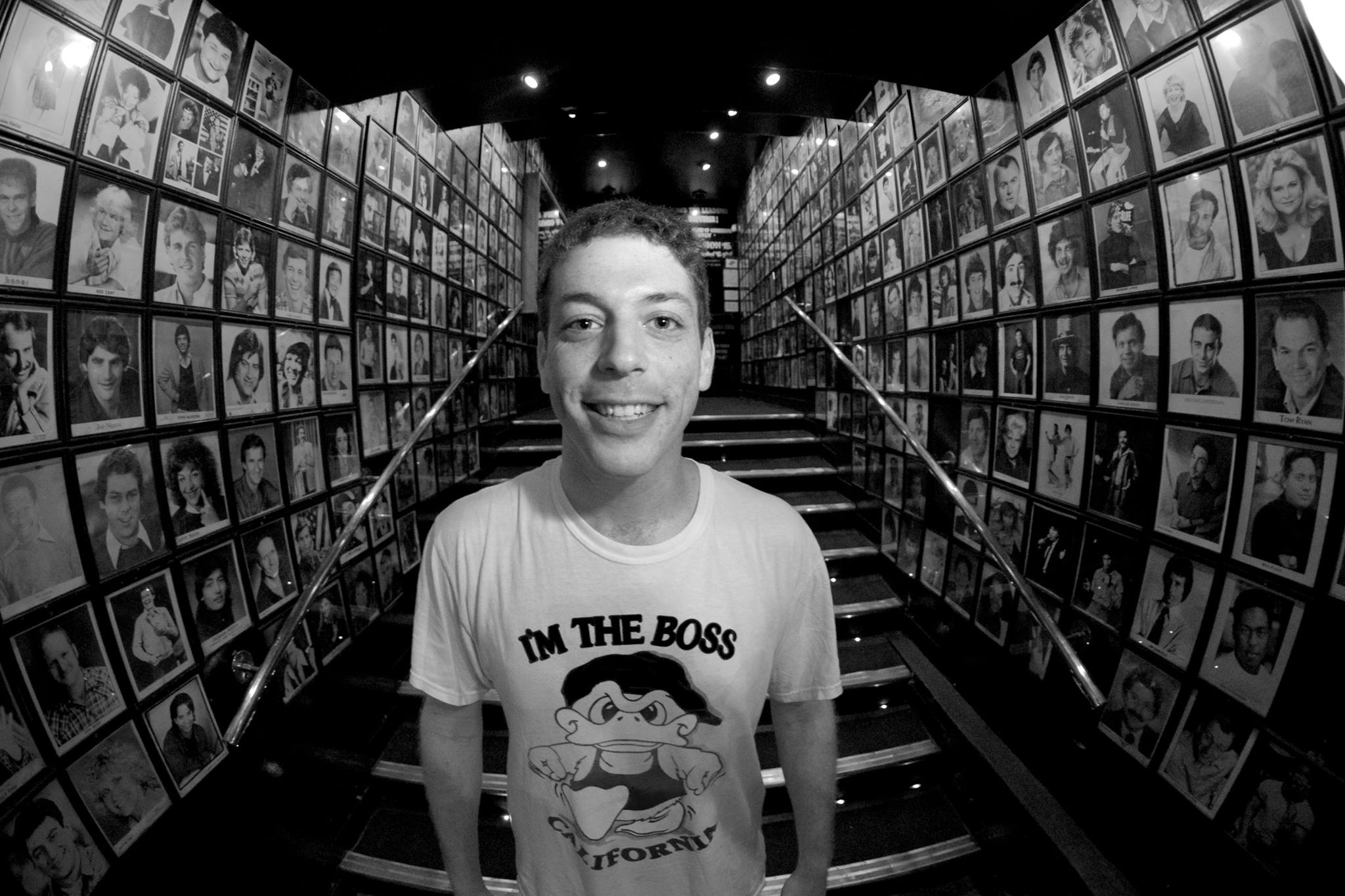 Jeffrey Baldinger Comedy Store Fish Bowl smile.jpg