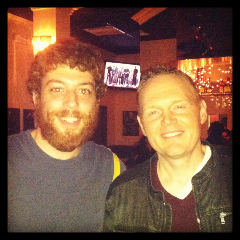 Jeffrey Baldinger and Bill Burr.jpg