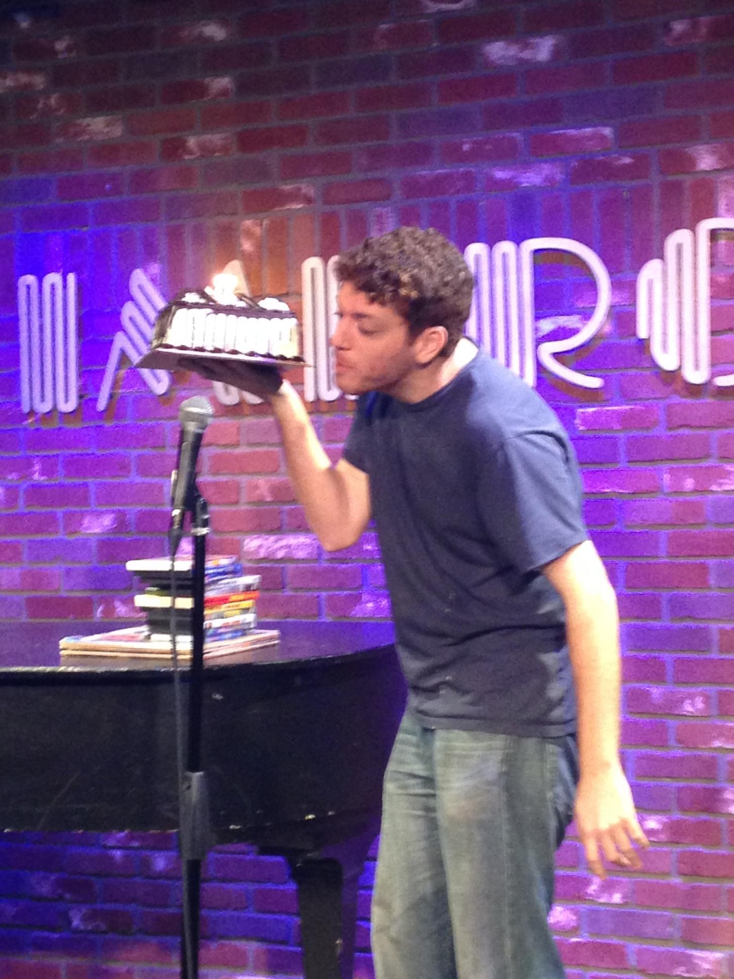 Jeffrey eats birthday cake 2014.jpg