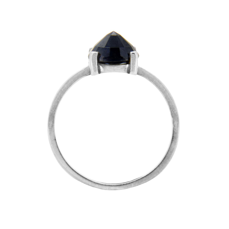 Midnight Sapphire Stacker Ring