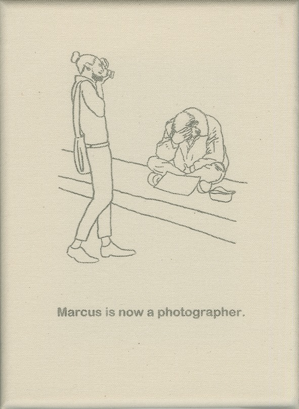 Marcus is now a photographer.
