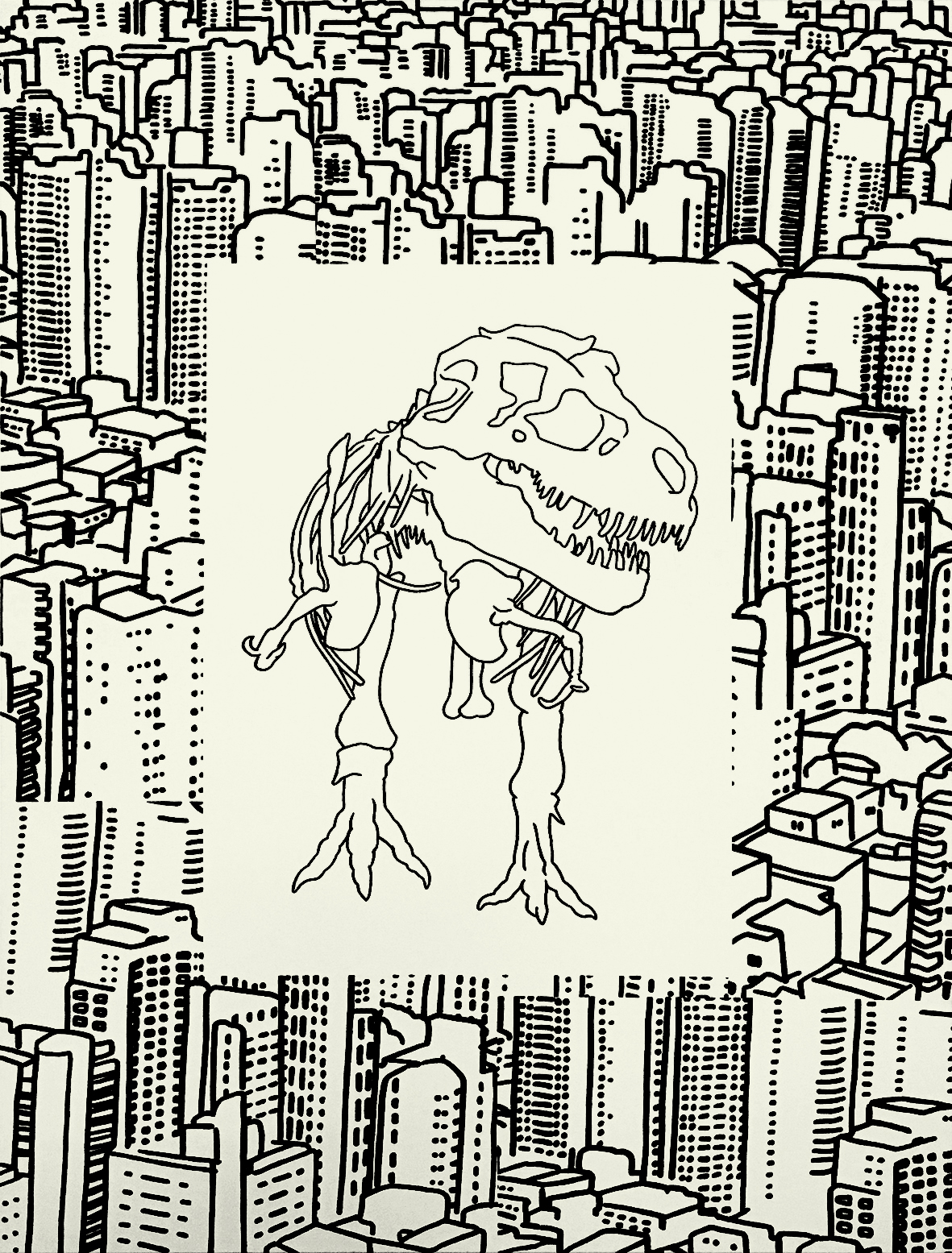 T-Rex / City