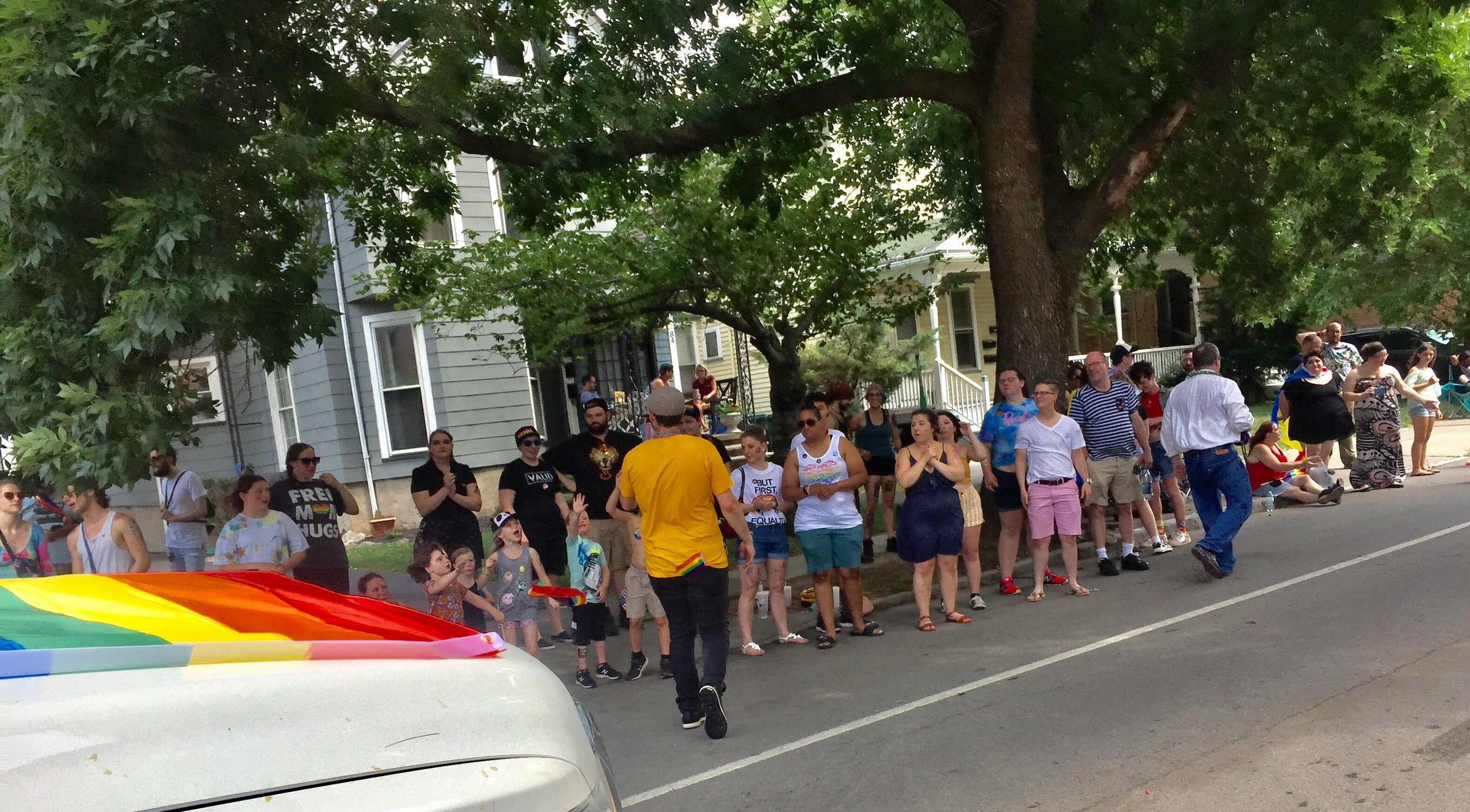 2019 07-20 Pride parade - MG talking to north side of st.jpeg