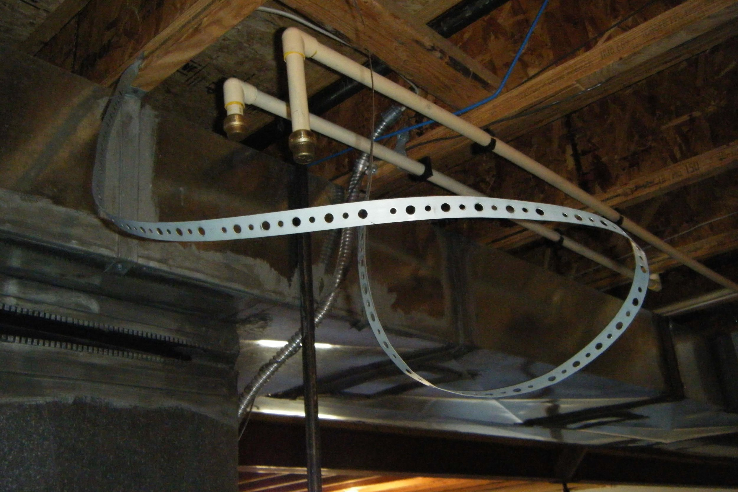 For peace of mind, I'm a huge fan of steel reinforced hoses! The plumbing systems within your home are constantly under pressure, and many of them are connected using hoses, (e.g., faucets, toilets, laundry tubs, washing machines, sinks, etc.). If one of these hoses springs a leak while you're on vacation, you may be coming home to a big mess.