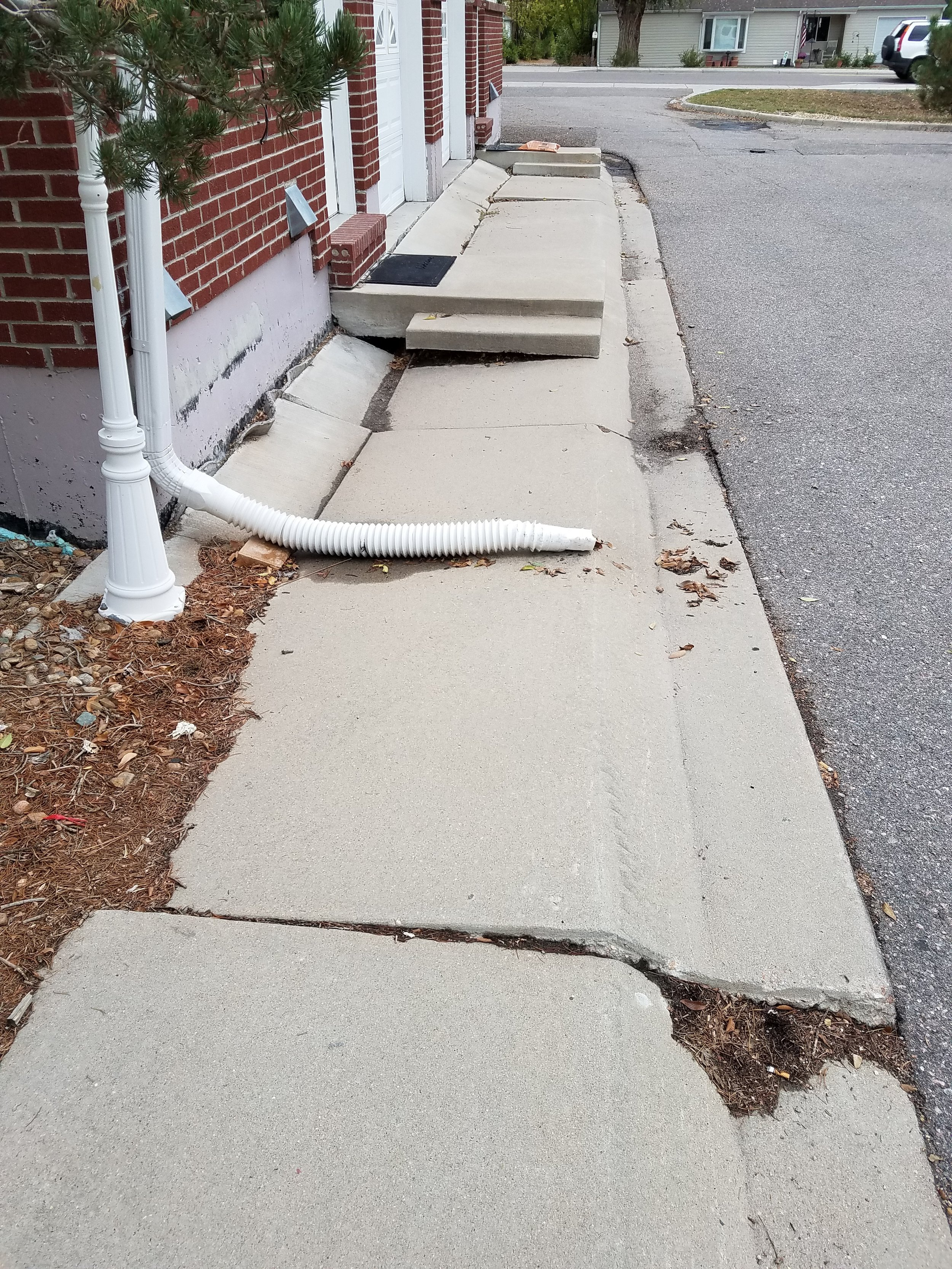 Improper exterior drainage can do a lot of damage and accounts for 90% of water entry into basements and crawlspaces.