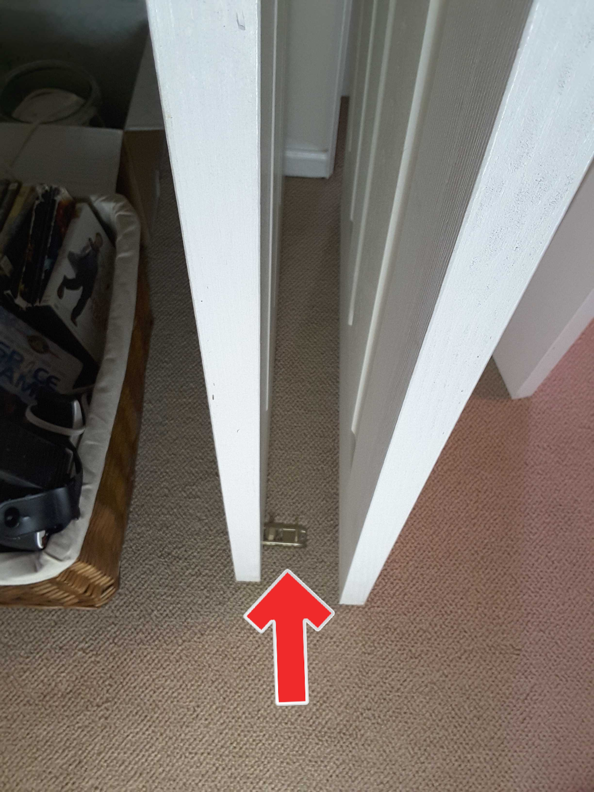 Missing or damaged closet door guides allow closet doors to swing freely and possibly slip off their tracks. It's an easy/inexpensive repair that only takes minutes to fix.