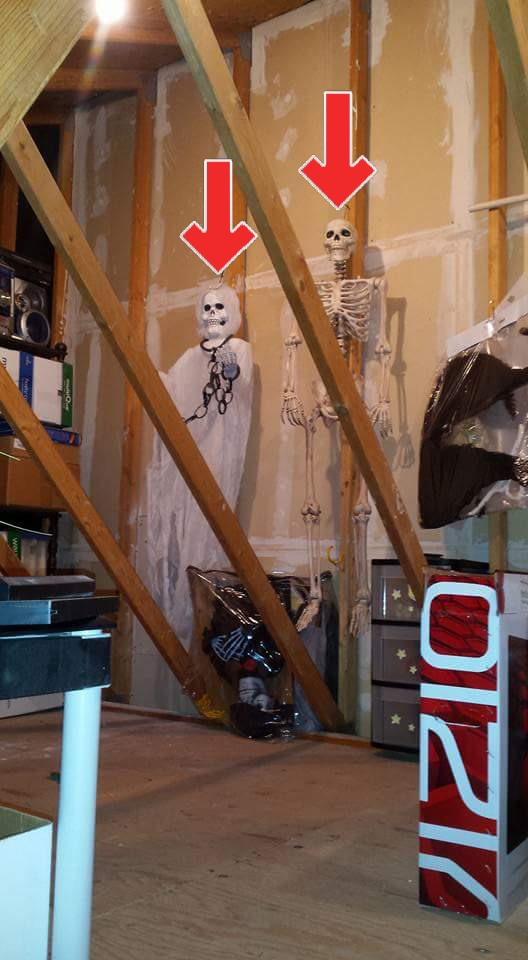 Halloween is near, time to let the ghouls and skeletons out of your attic. Unfortunately, not the creepiest thing found during my inspections.