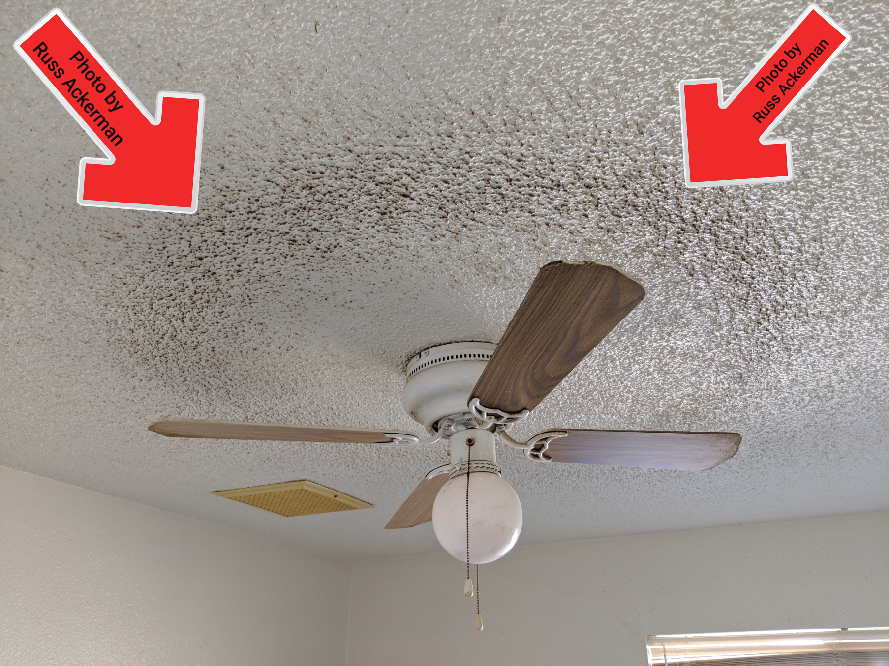 This filthy rental home looked like it had never been cleaned. These are the things that make a 13 year old home look like it was 60 years old.