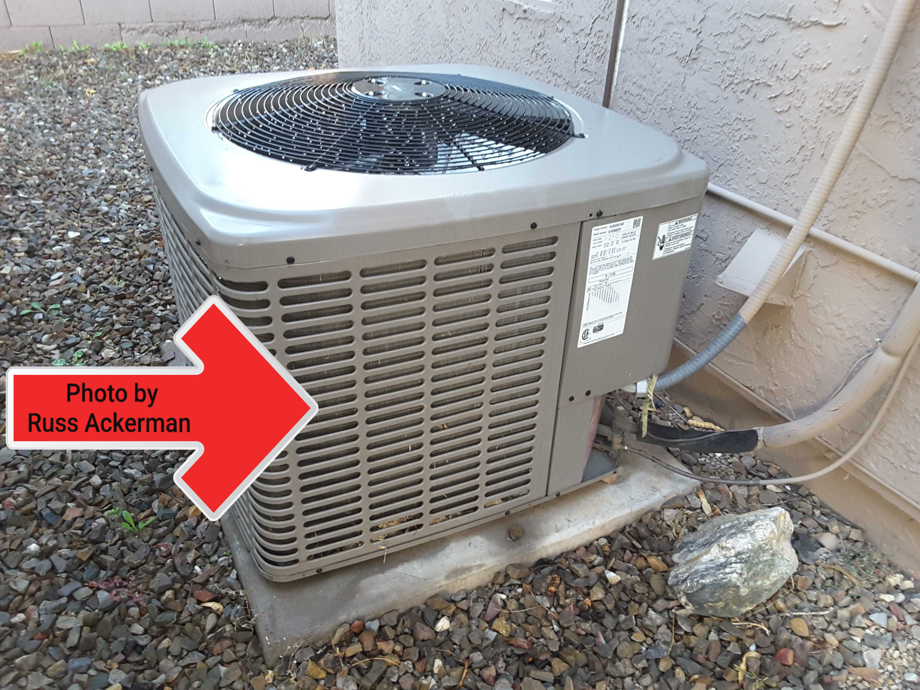 During summer dust storms, turn your HVAC system off to avoid clogging up your condenser coils and keep the dust down inside your home.