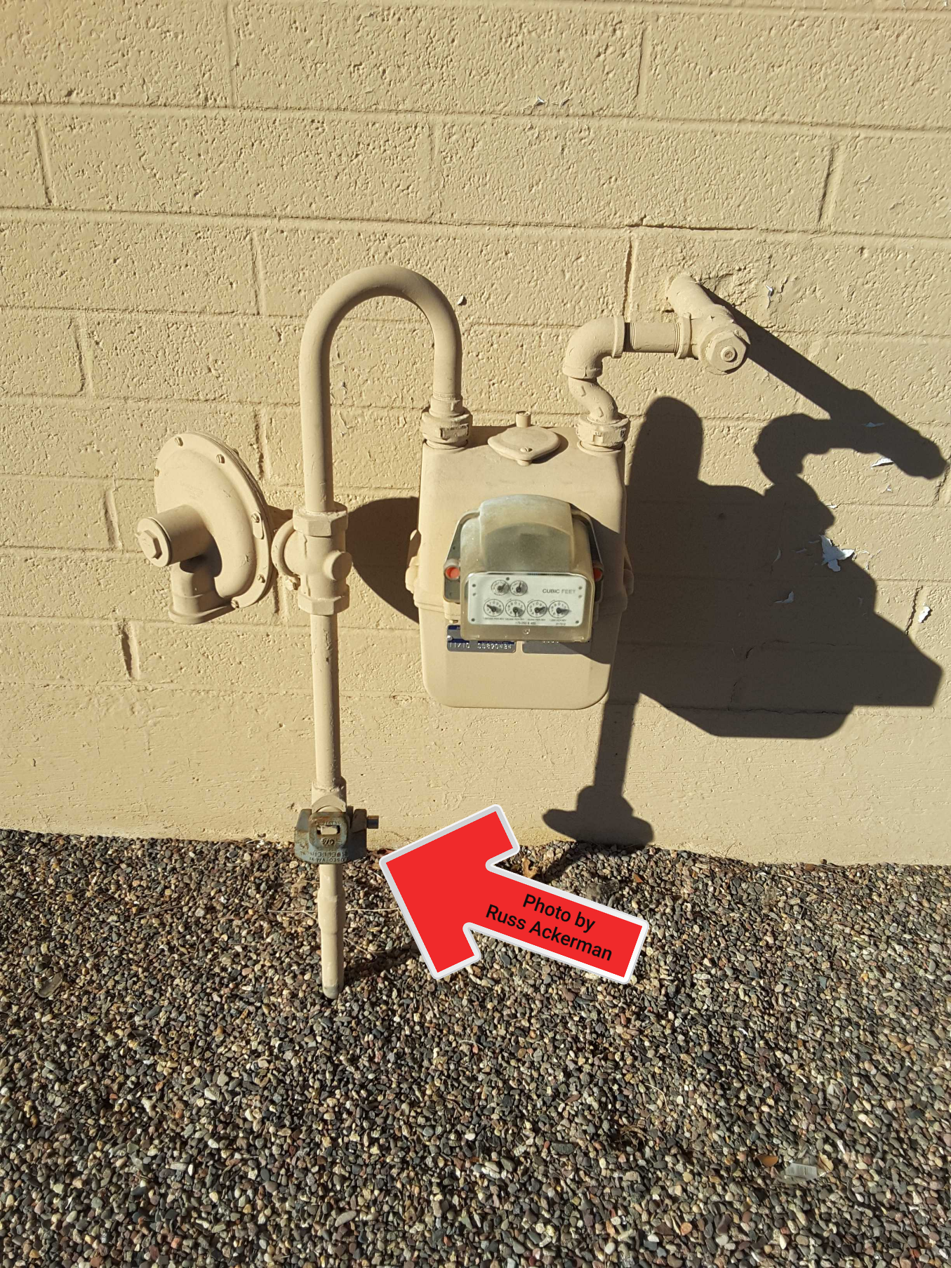 A locked gas valve will greatly limit a home inspection. Proper inspection of water heaters as well as orientation of hot/cold at fixtures will not be possible.