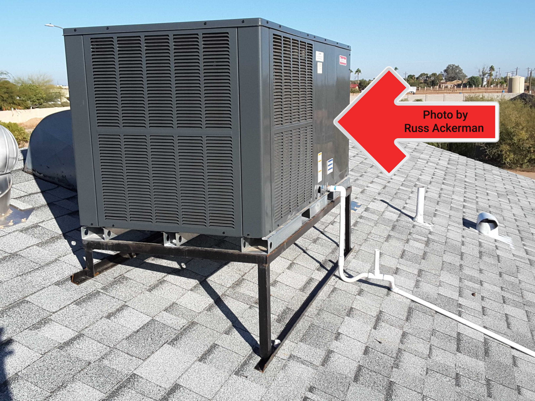 Rooftop HVAC system are out of sight and out of mind. Most of the time they are never serviced or cleaned until they break down.