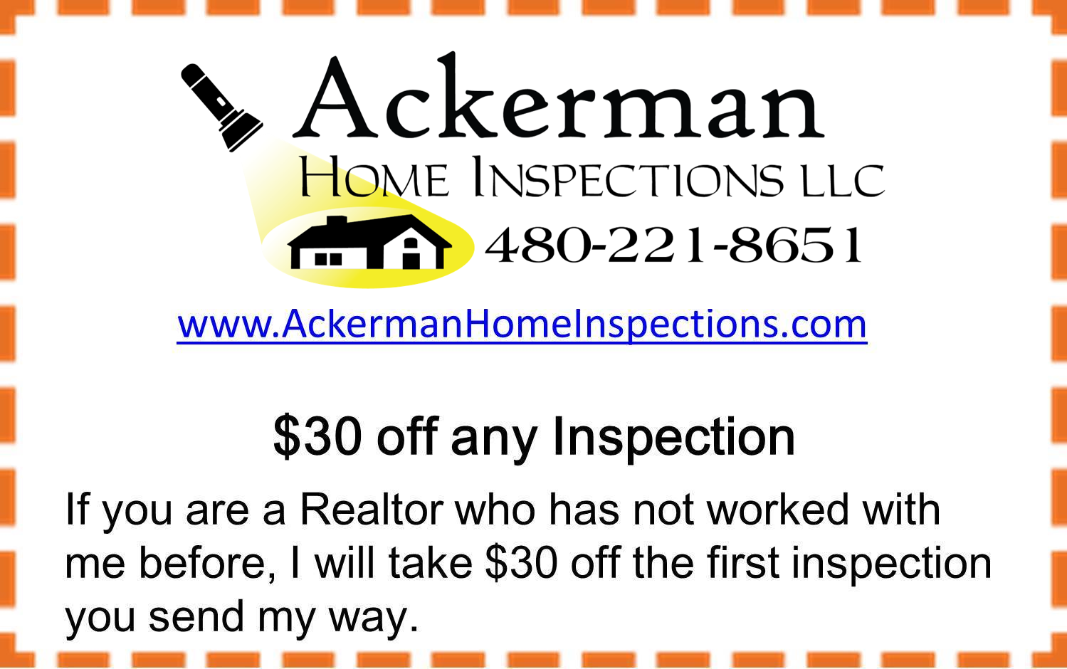Real estate agents. Your clients will thank you for referring a Certified Master Inspector with competitive pricing and a Buy Back Guarantee.  https://goo.gl/E4Y9JE