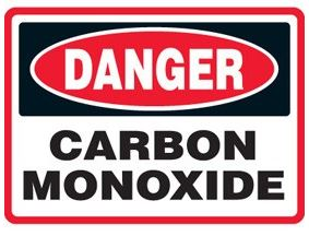 Carbon monoxide detectors are often mounted on ceilings. However, because CO mixes with air, it's best to install them at knee level, the approximate height of a sleeping person's nose and mouth.