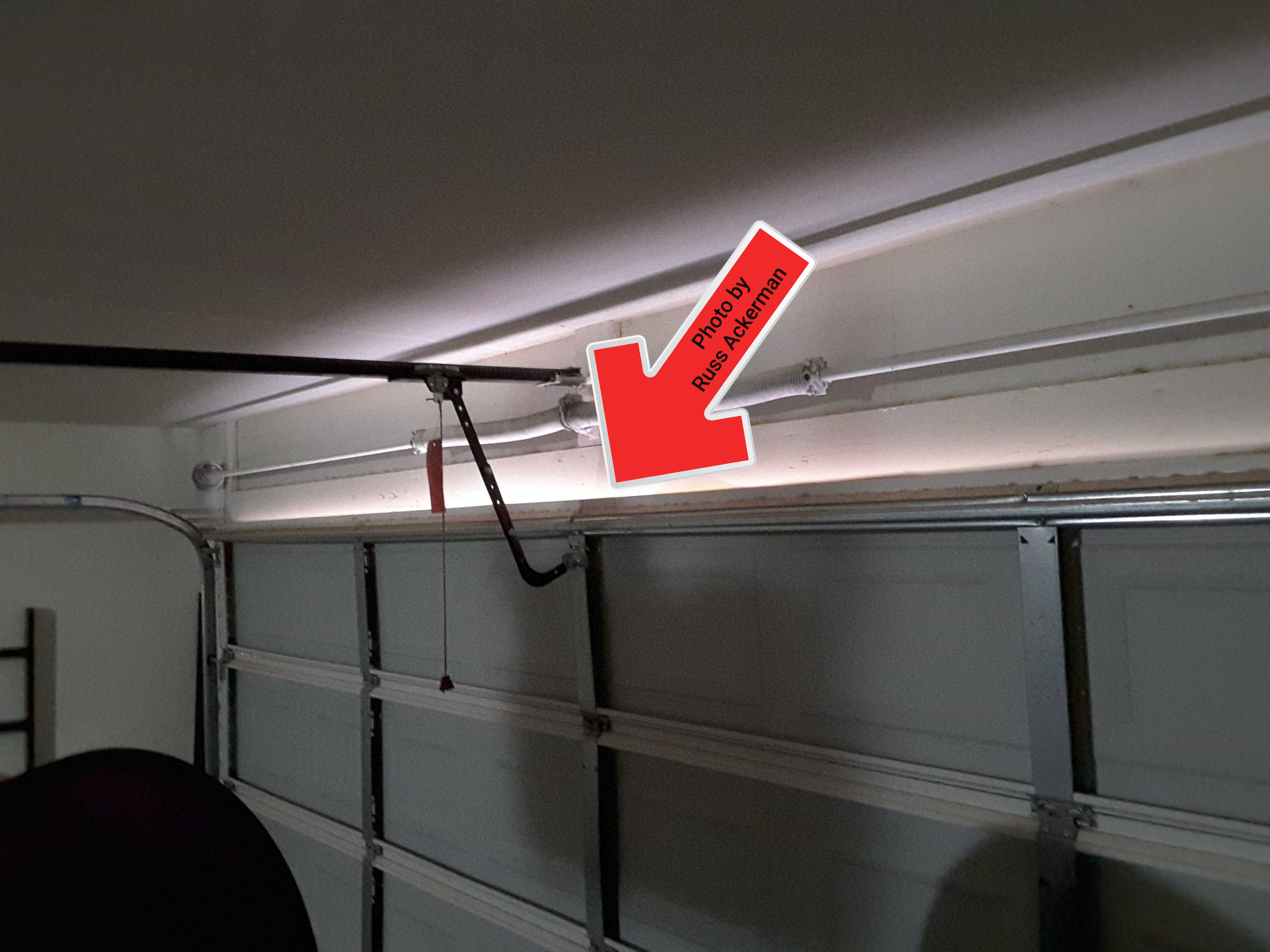Bent overhead garage doors are common when the pressure reverse feature on your opener is not working properly.