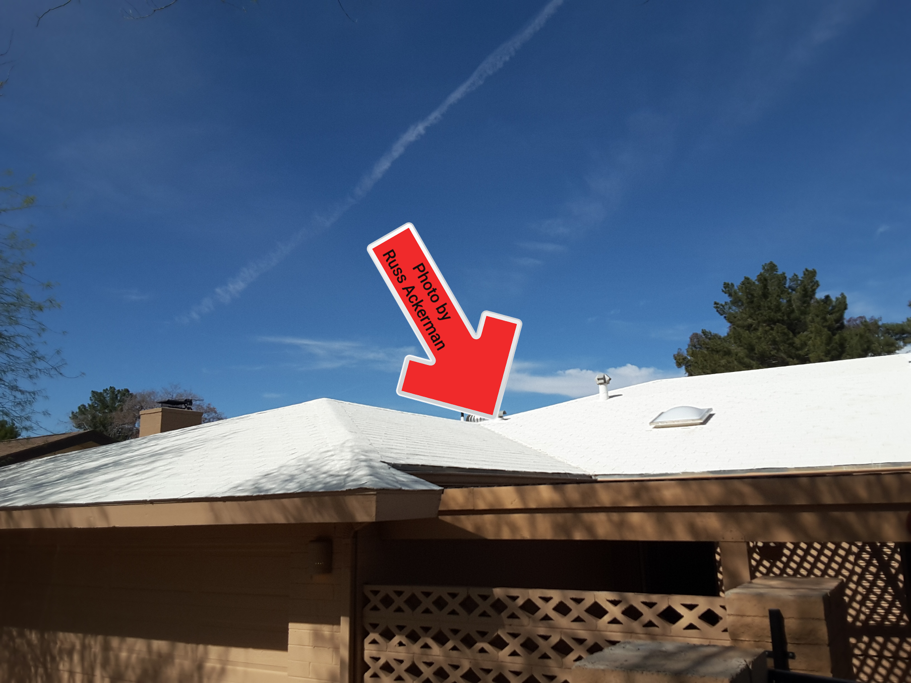 Elastomeric paint greatly limits a roof inspection and may void your manufacturers warranty. Always check before using these products.