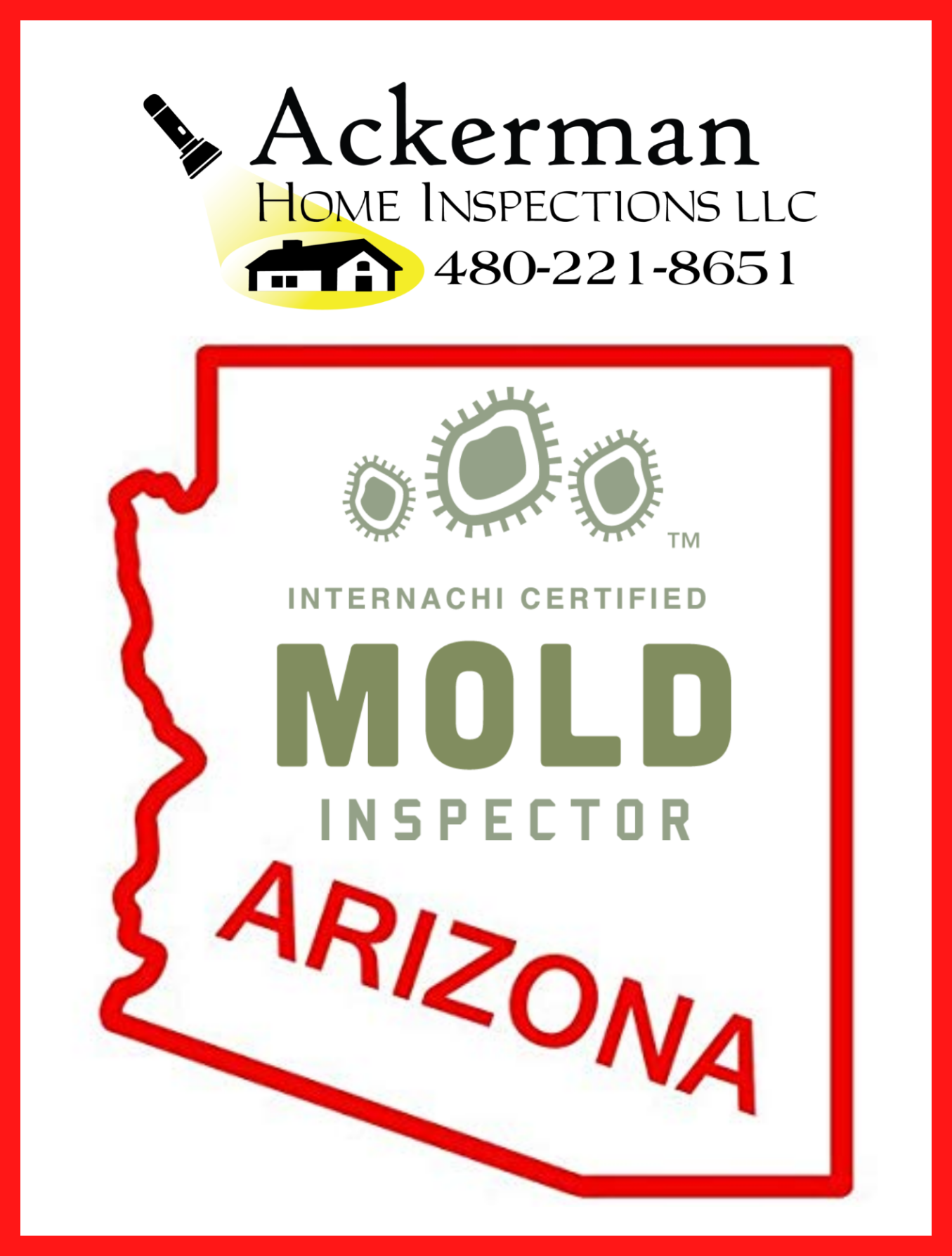 People often try to convince me that mold does not grow here in Phoenix because it's so dry. Arizona however, is one of the top five states in the nation for mold growth.