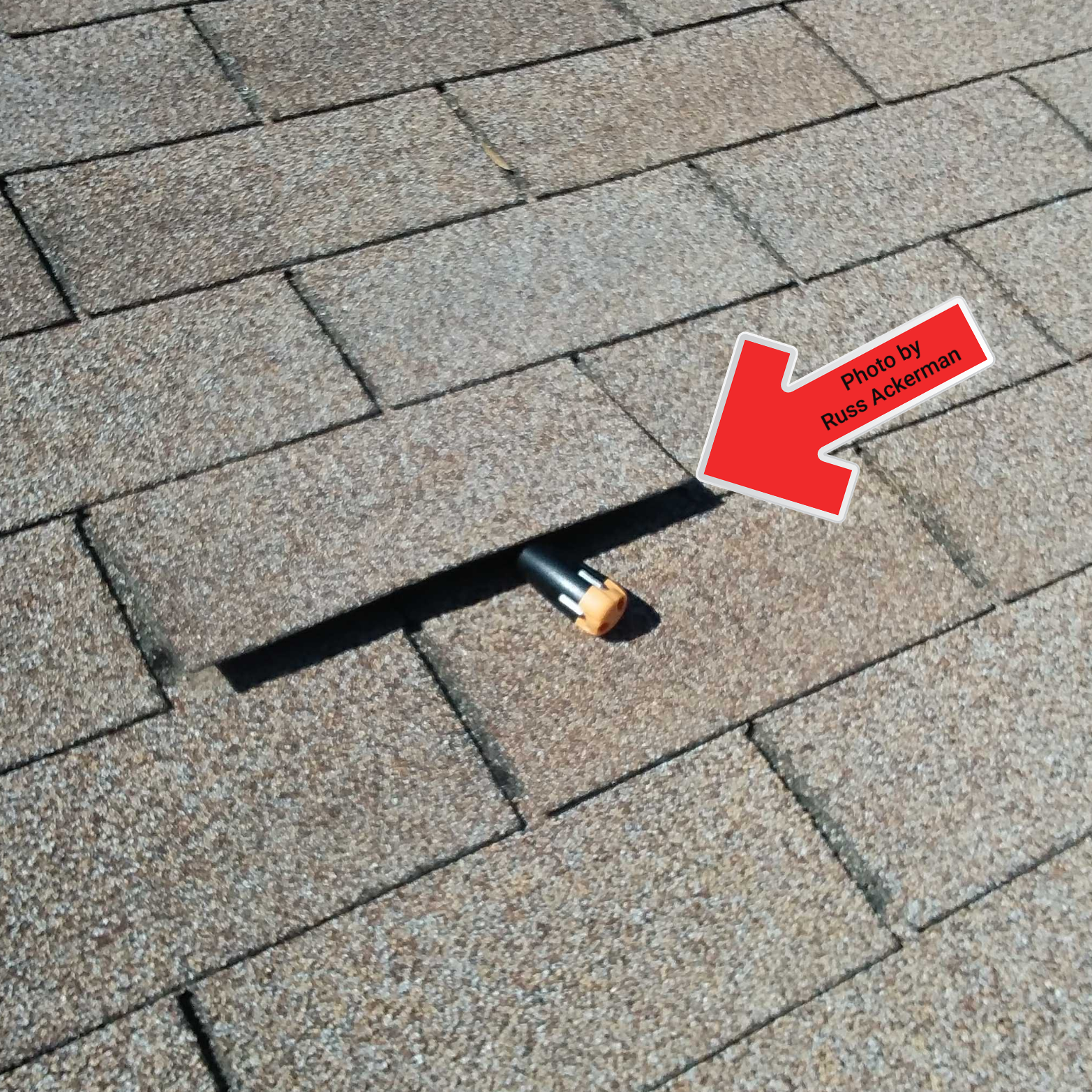 Failed bonding at asphalt roof shingles is the first sign of an aging roof. This will allow wind damage during summer monsoons.